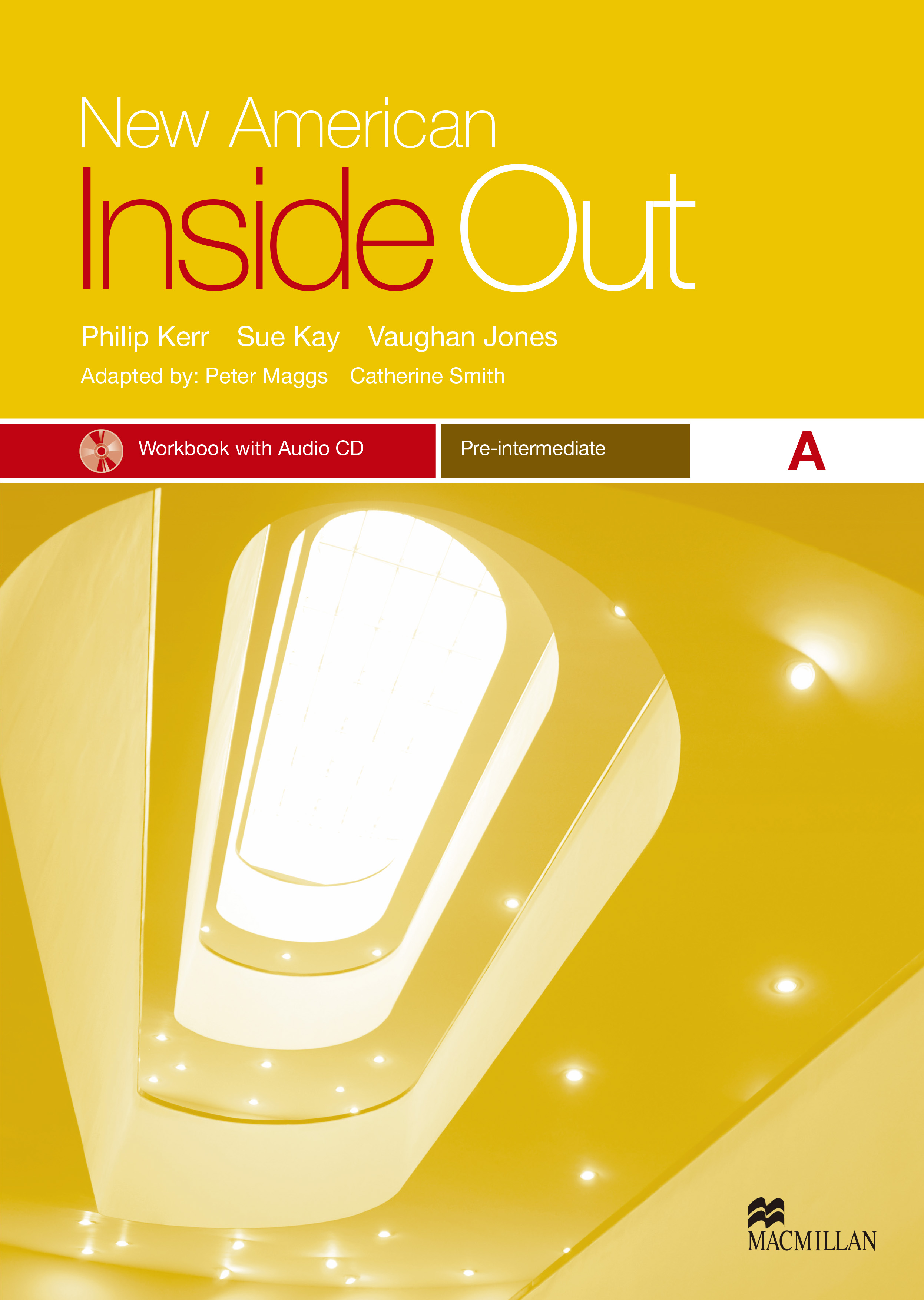 New American Inside Out Pre-Intermediate Workbook with Audio CD Pack-Split A