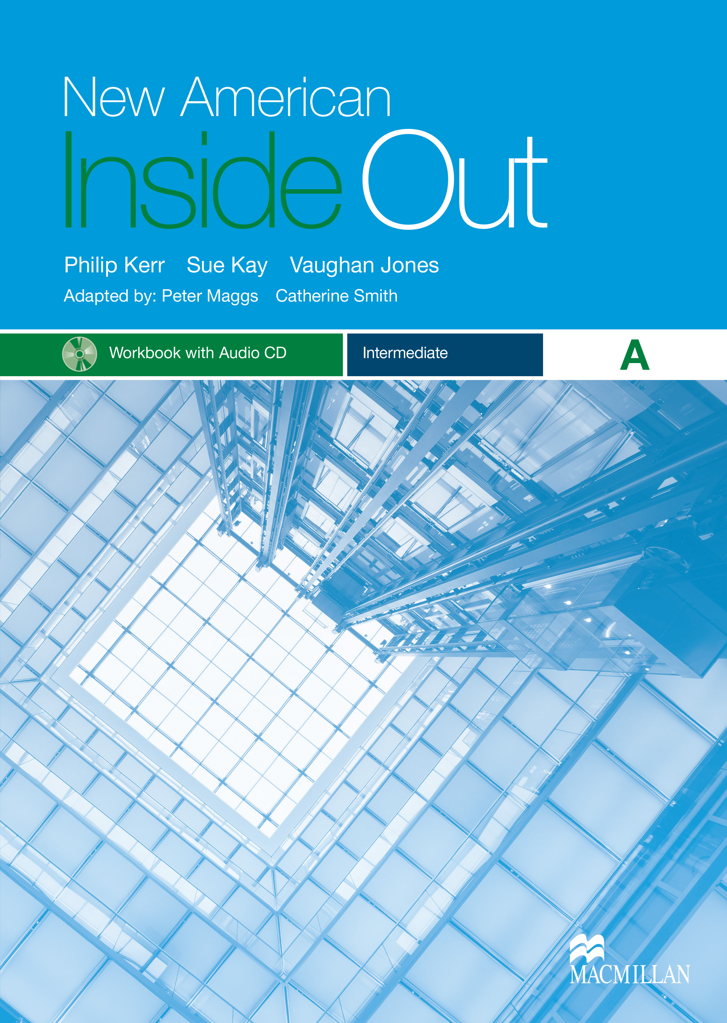 New American Inside Out Intermediate Workbook with Audio CD Pack-Split A