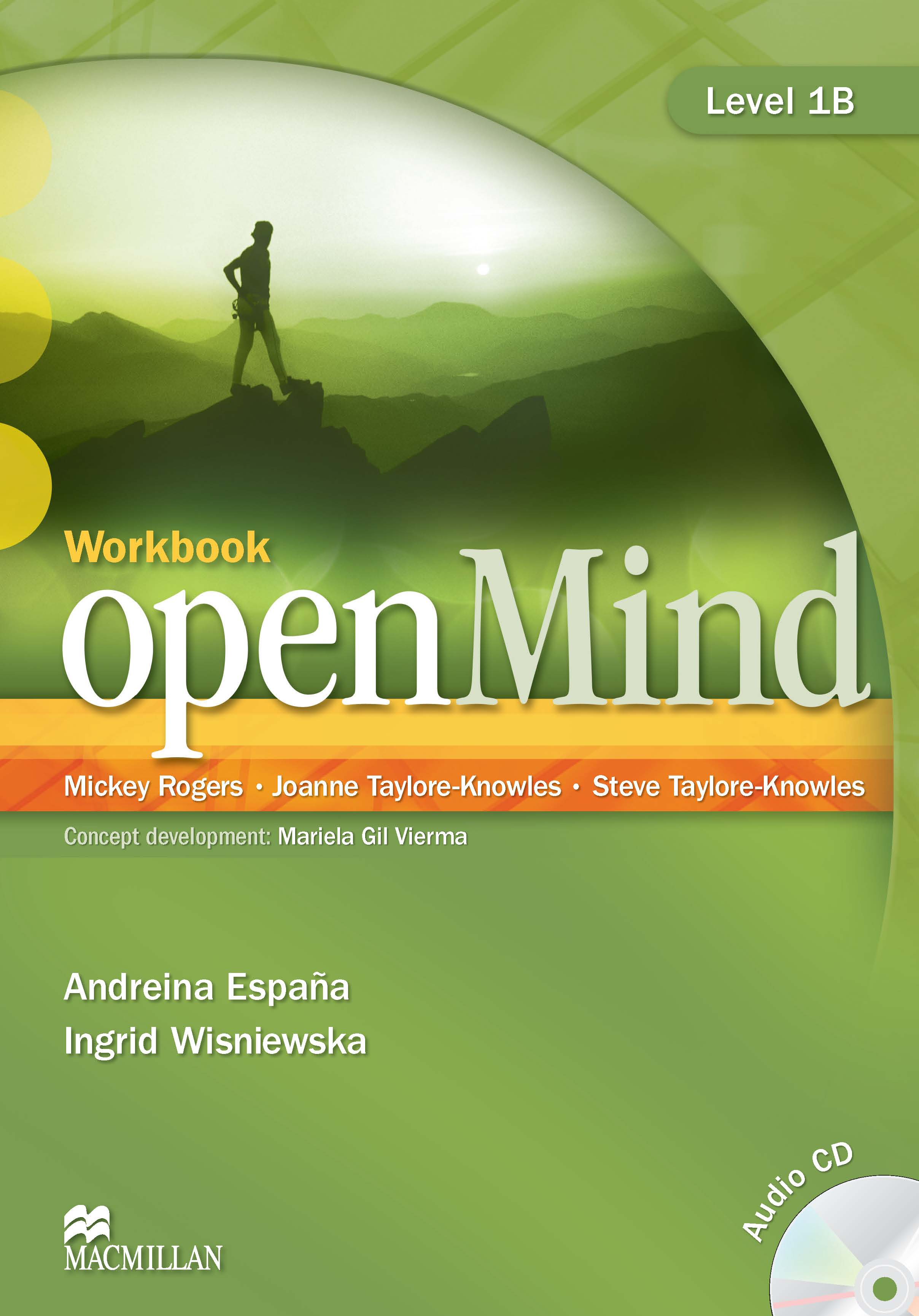 openMind 1 Workbook and CD Split Edition B