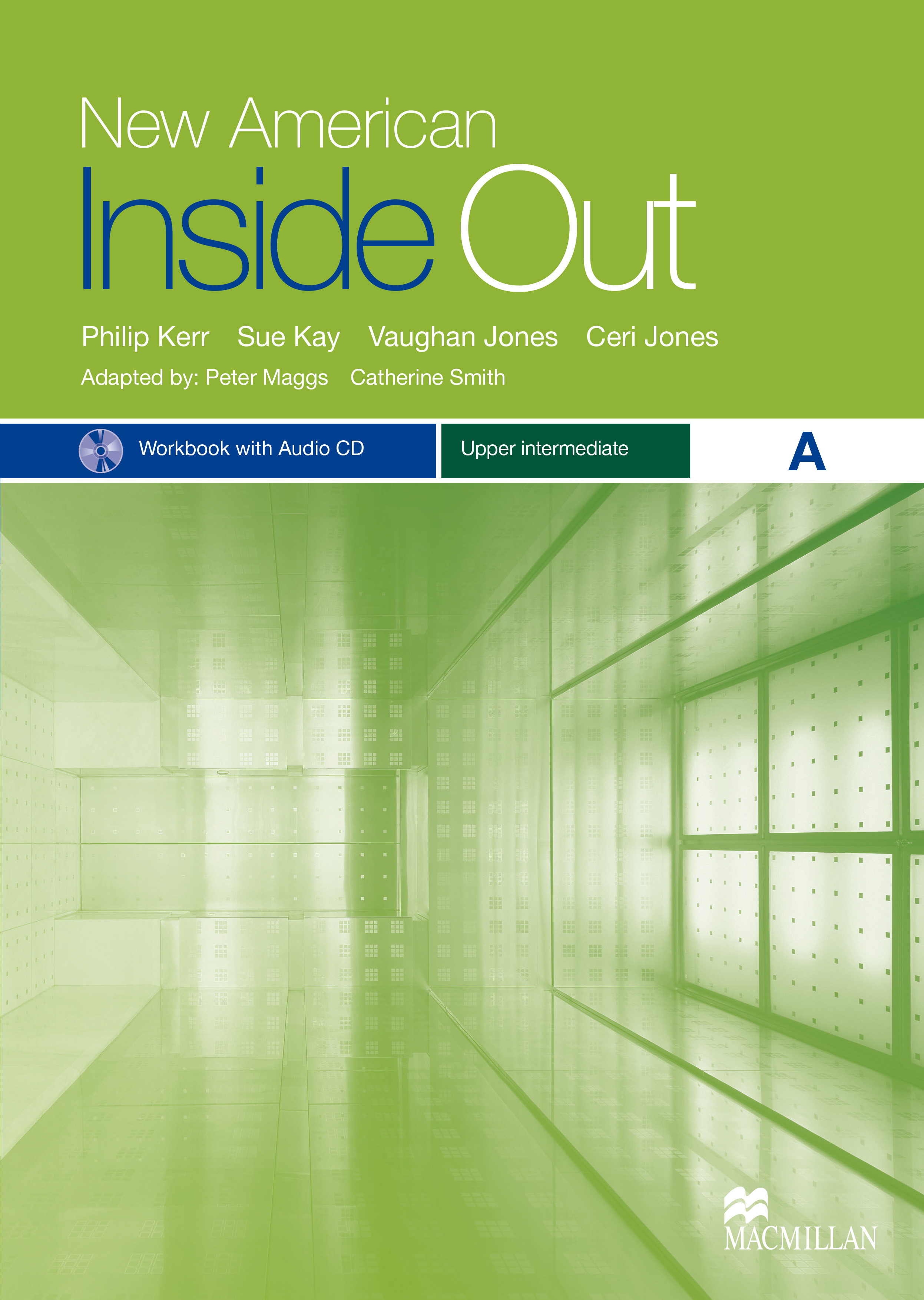 New American Inside Out Upper Intermediate Workbook with Audio CD Pack-Split A
