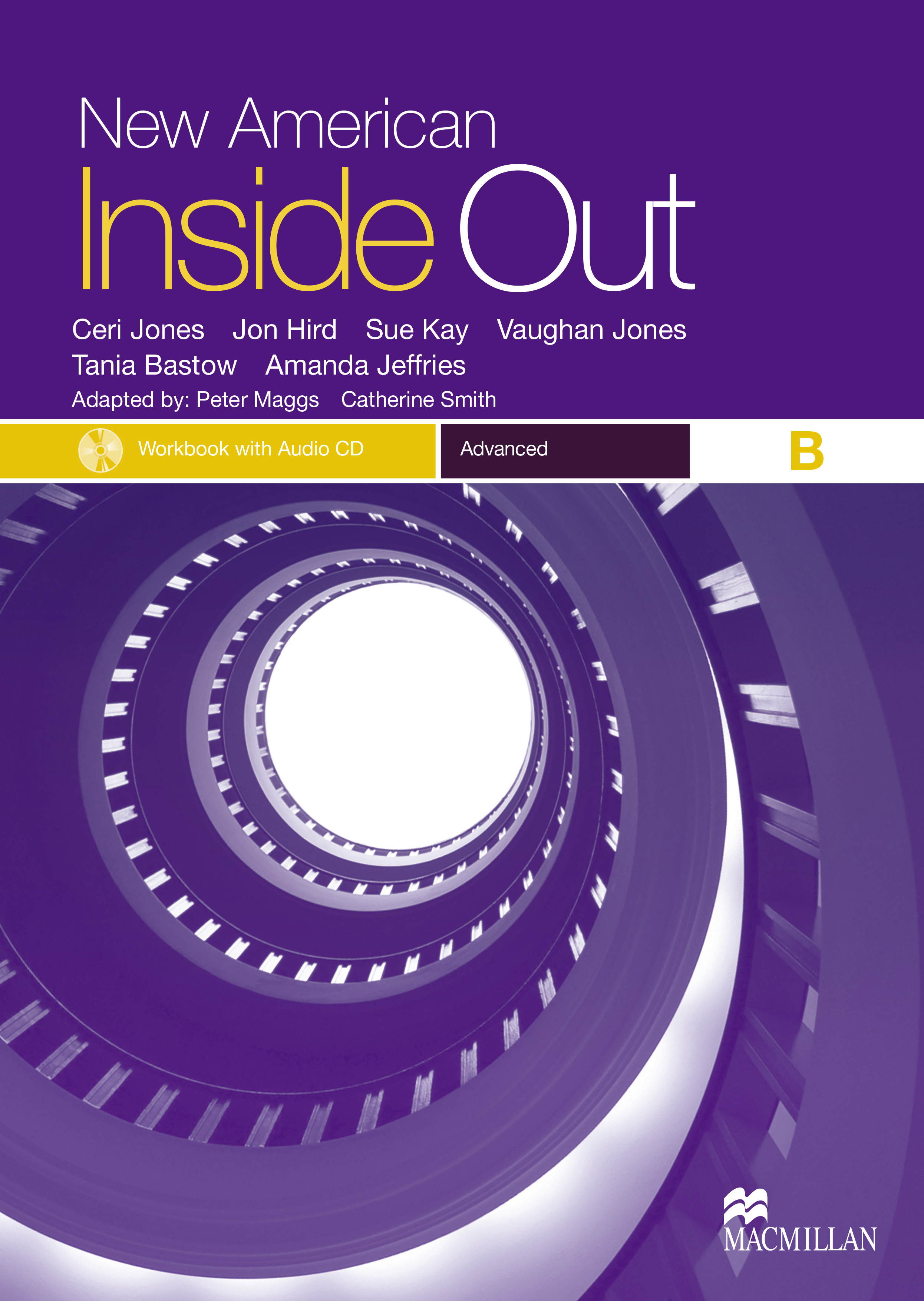 New American Inside Out Advanced Workbook with Audio CD Pack-Split B