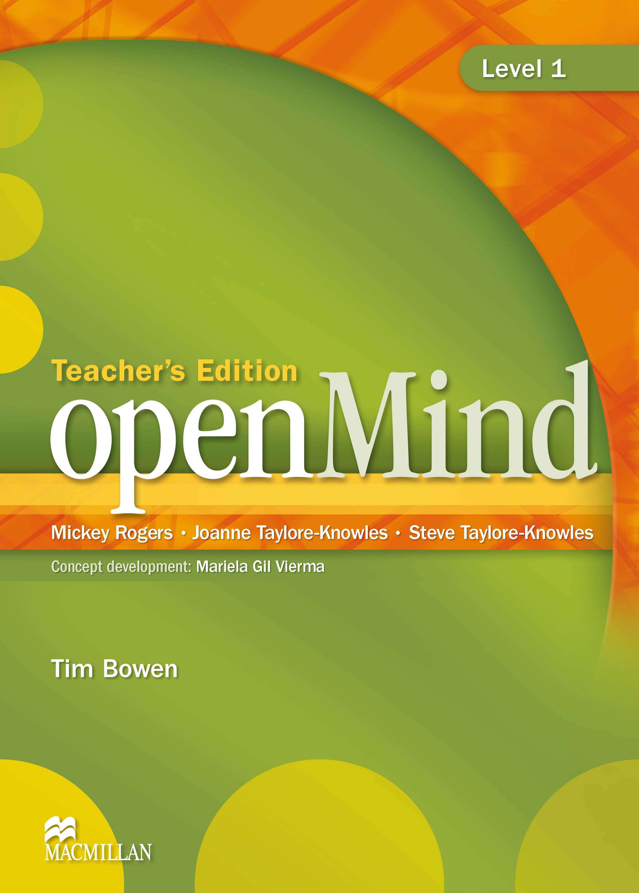 openMind 1 Teacher