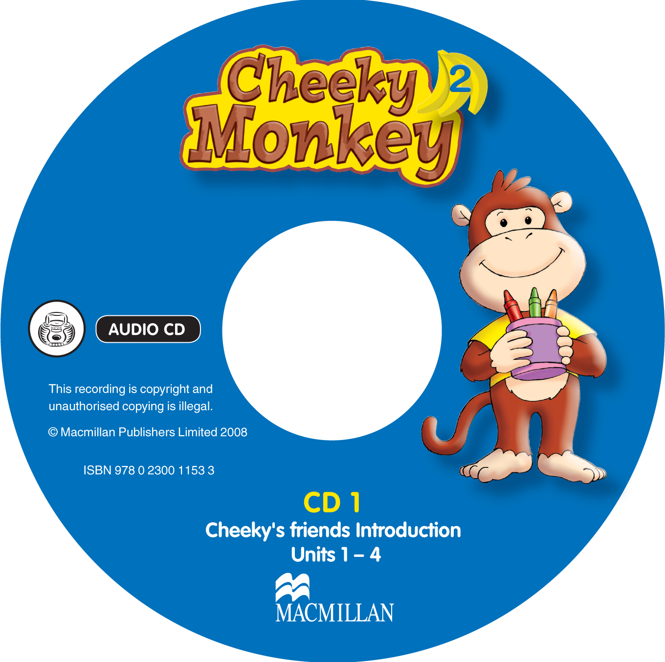 Cheeky Monkey 2 Class Audio CDs