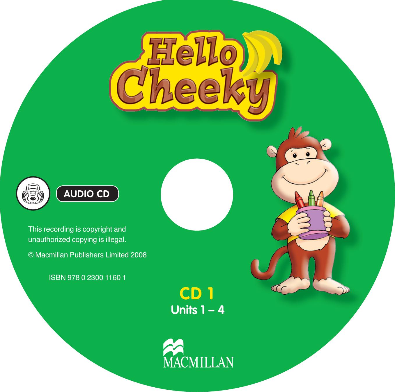 Hello Cheeky Class Audio CDs