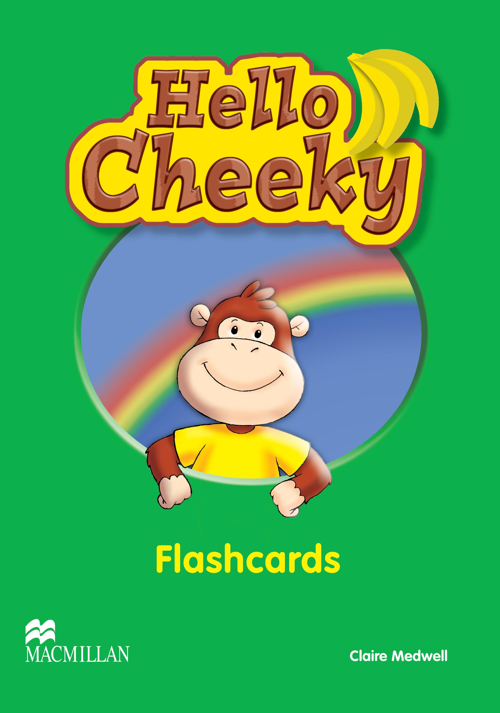 Hello Cheeky Flashcards