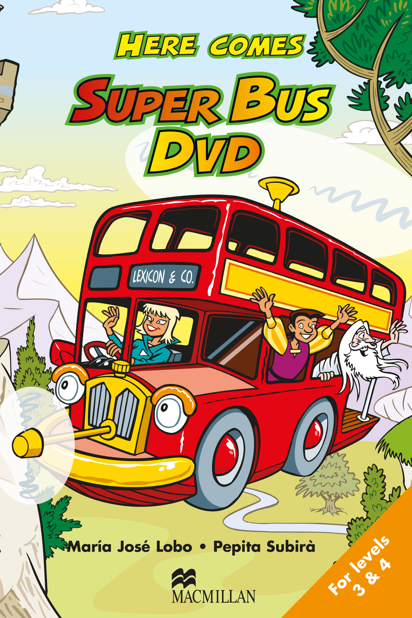 Here Comes Super Bus Levels 3 and 4 DVD