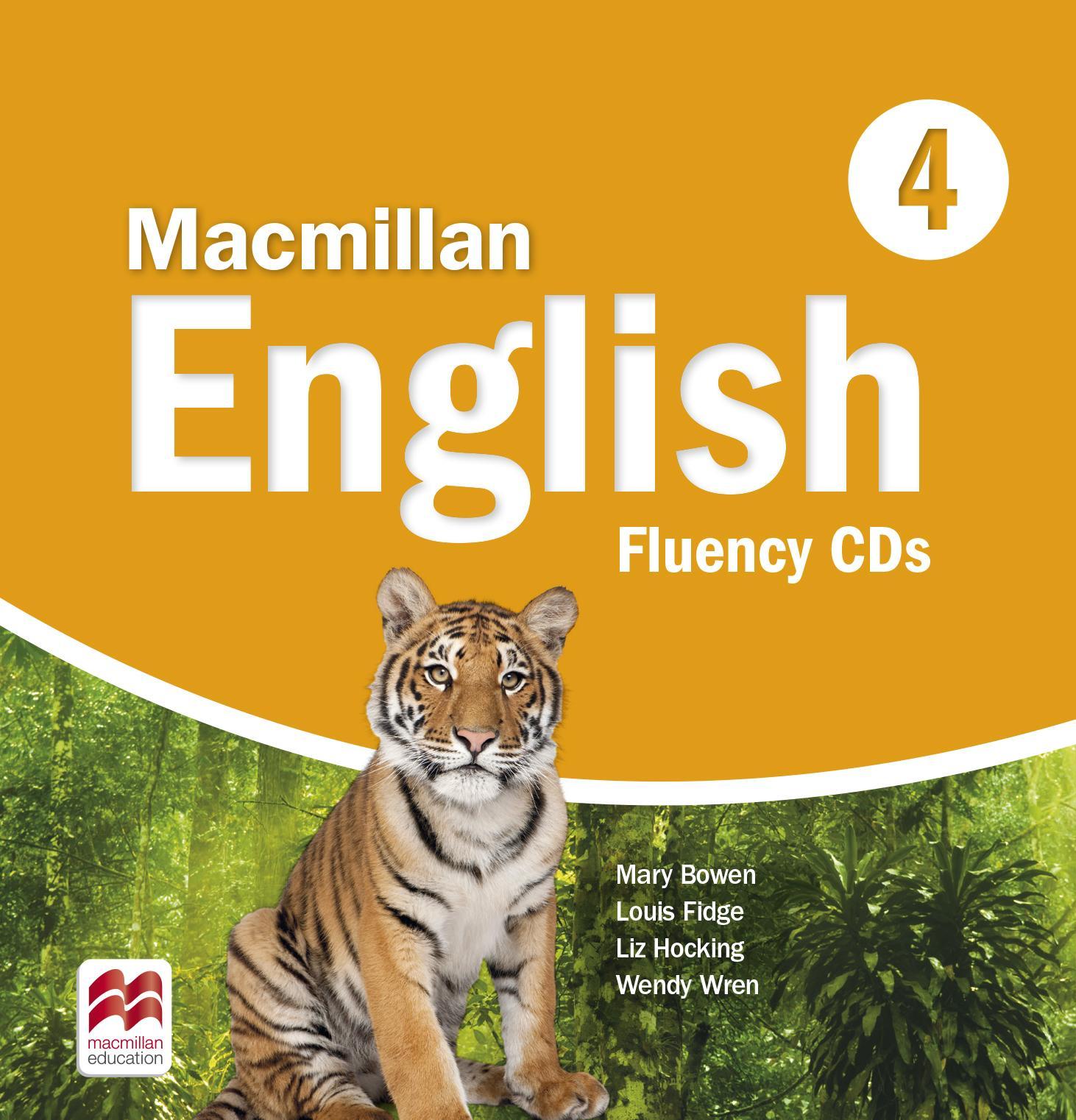 Macmillan English 4 Fluency Book Audio CDs