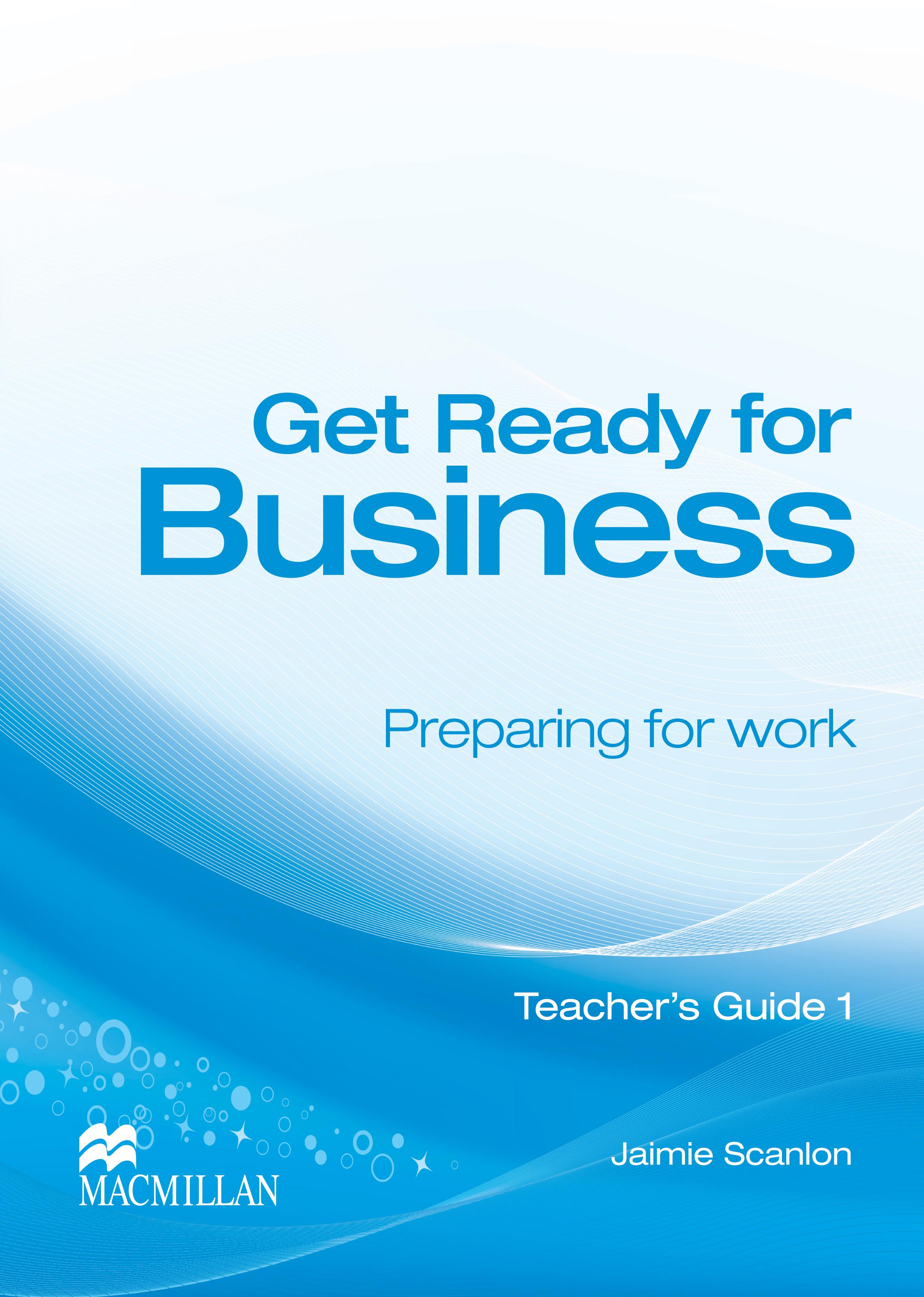 Get Ready for Business 1 Teacher