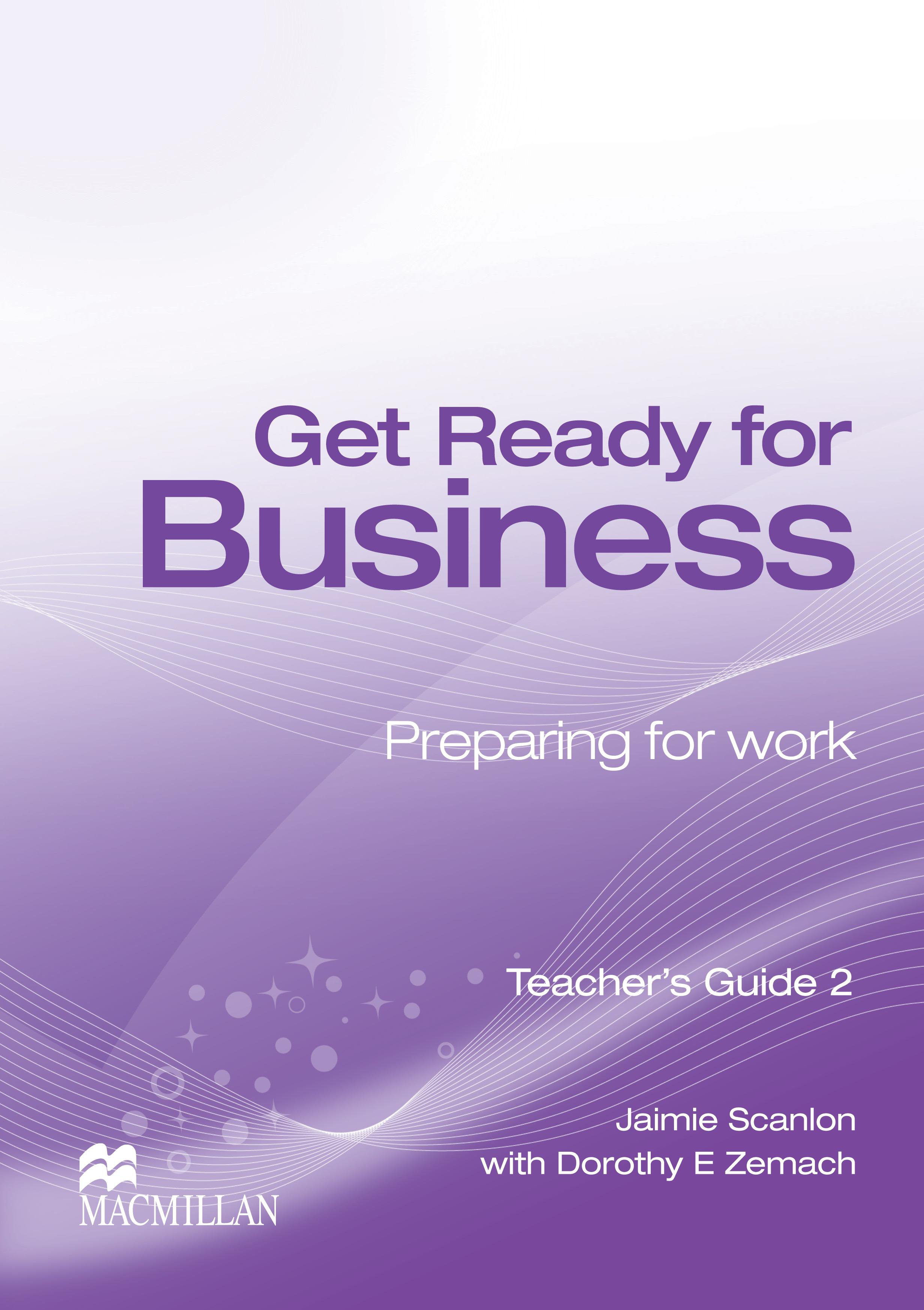 Get Ready for Business 2 Teacher