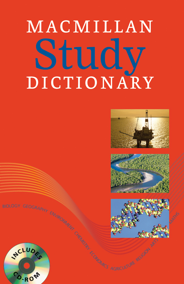 Macmillan Study Dictionary + CD-ROM Pack