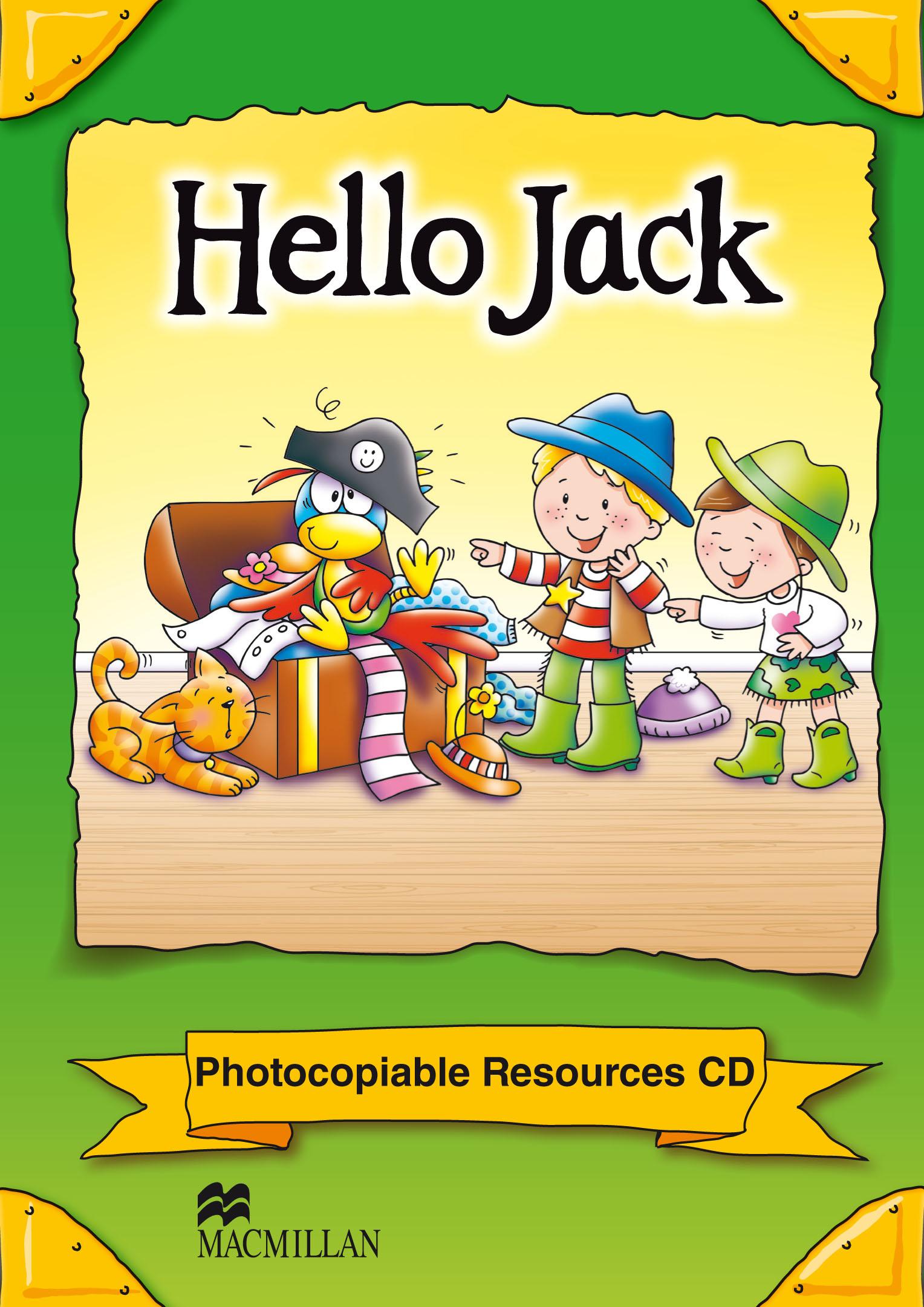 Hello Jack Photocopiables CD-ROM