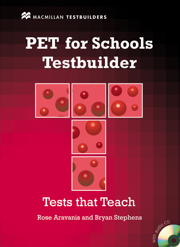 PET for Schools Testbuilder with Key + Audio CD Pack