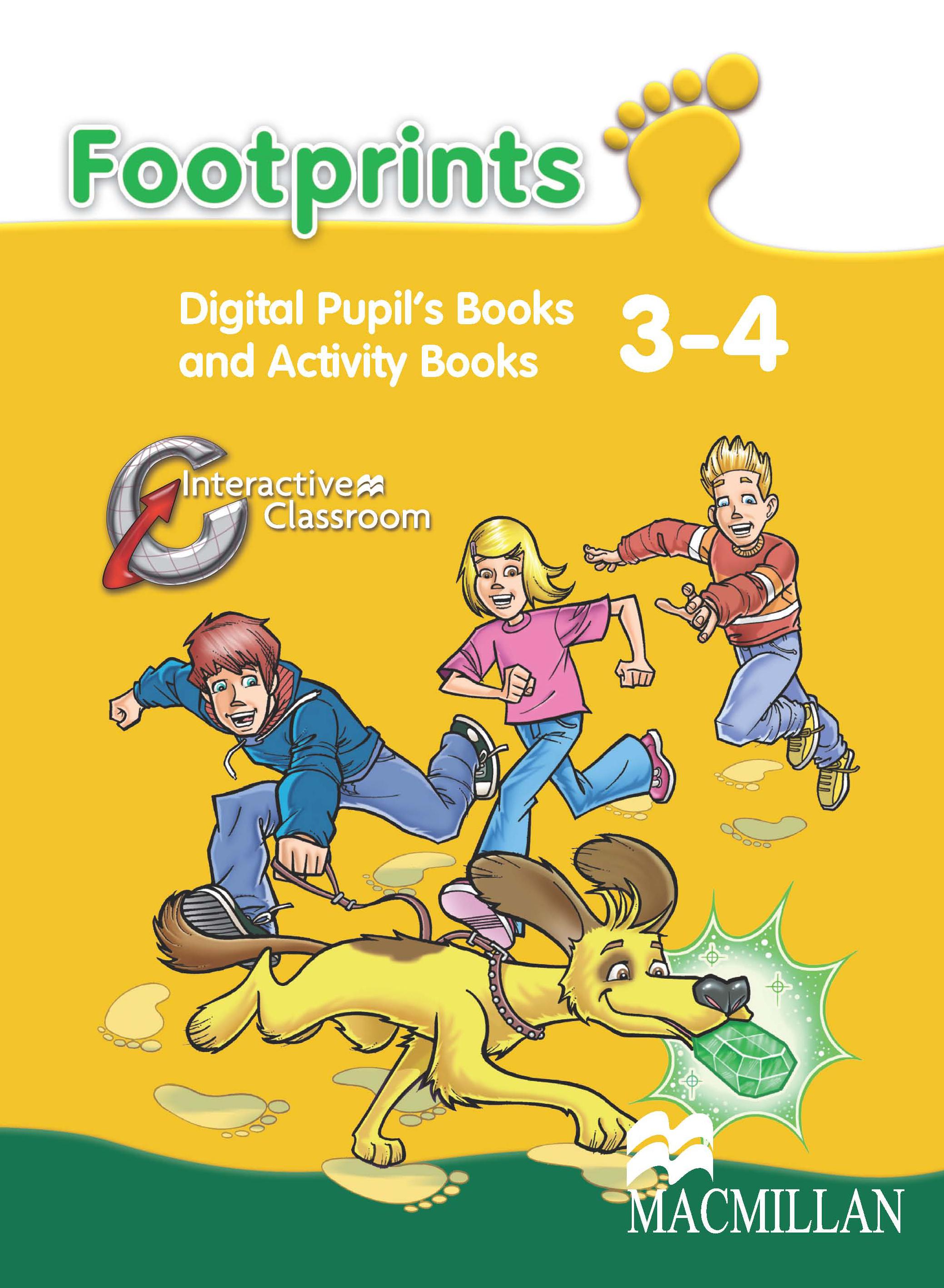 Footprints Levels 3 and 4 Digital Book