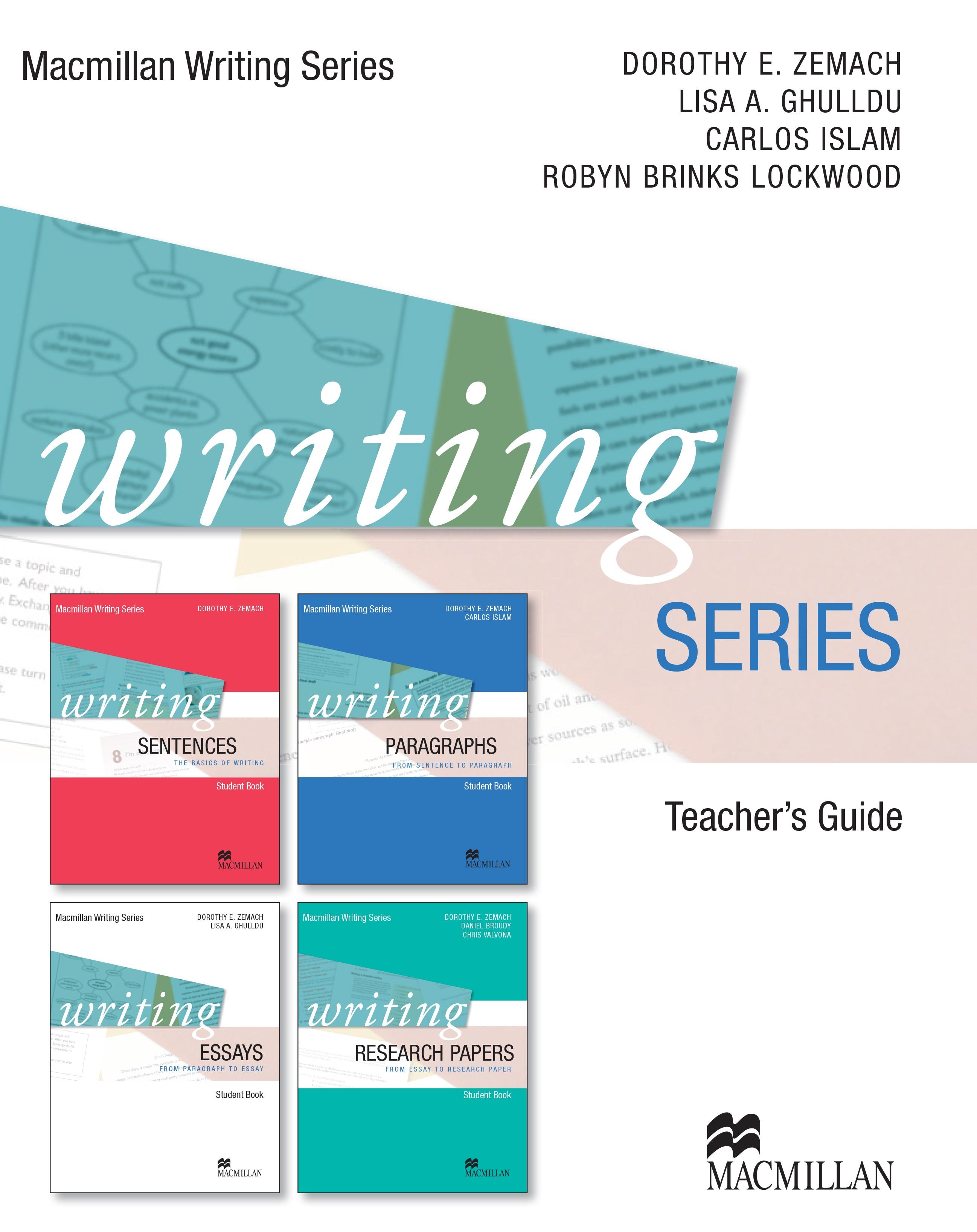Macmillan Writing Series Teacher