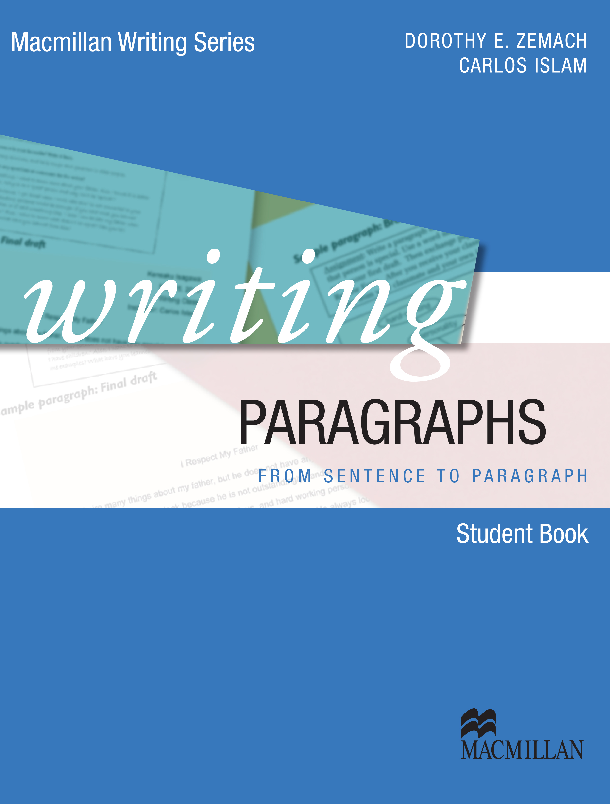 Macmillan Writing Series Writing Paragraphs