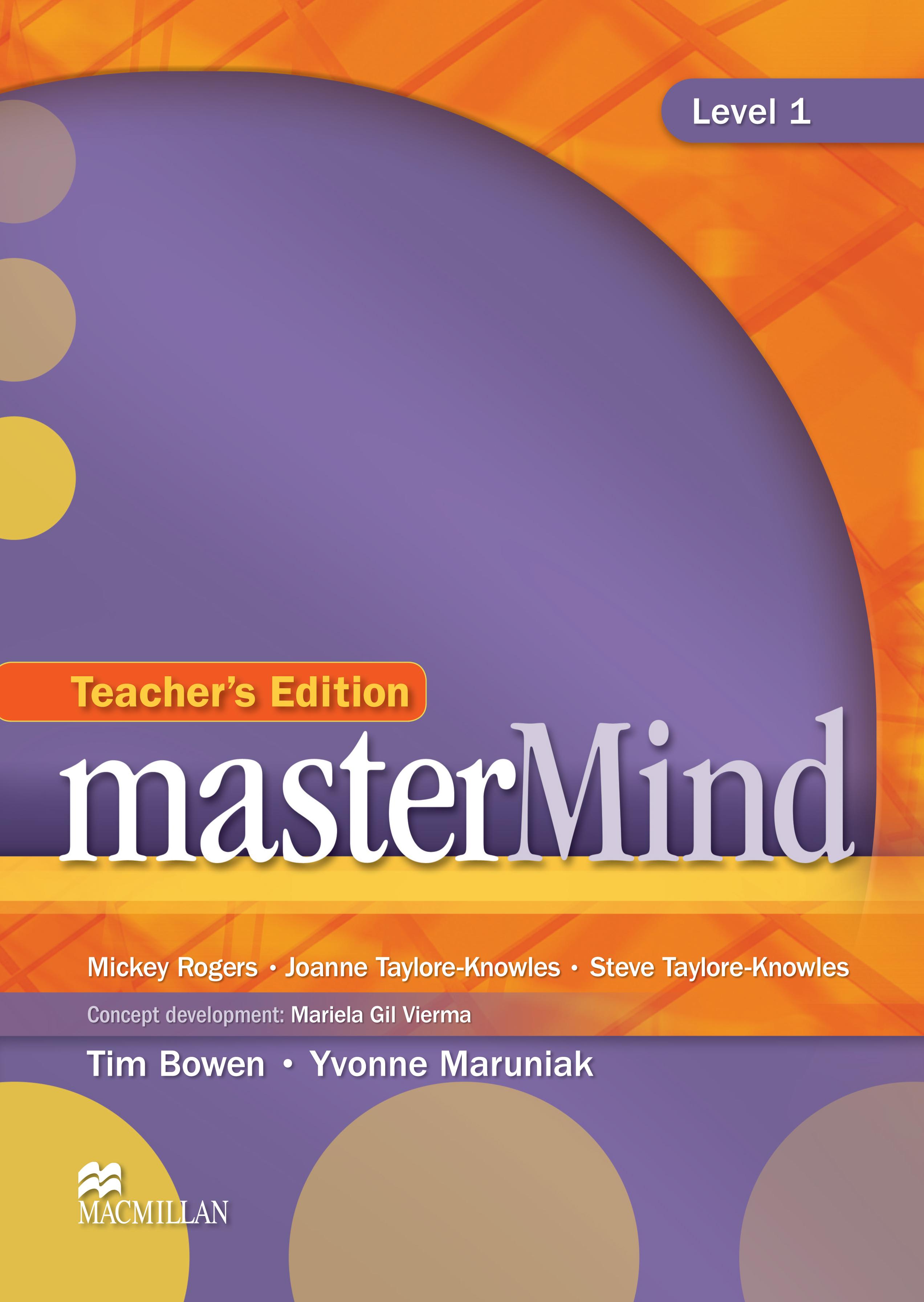 masterMind 1 Teacher