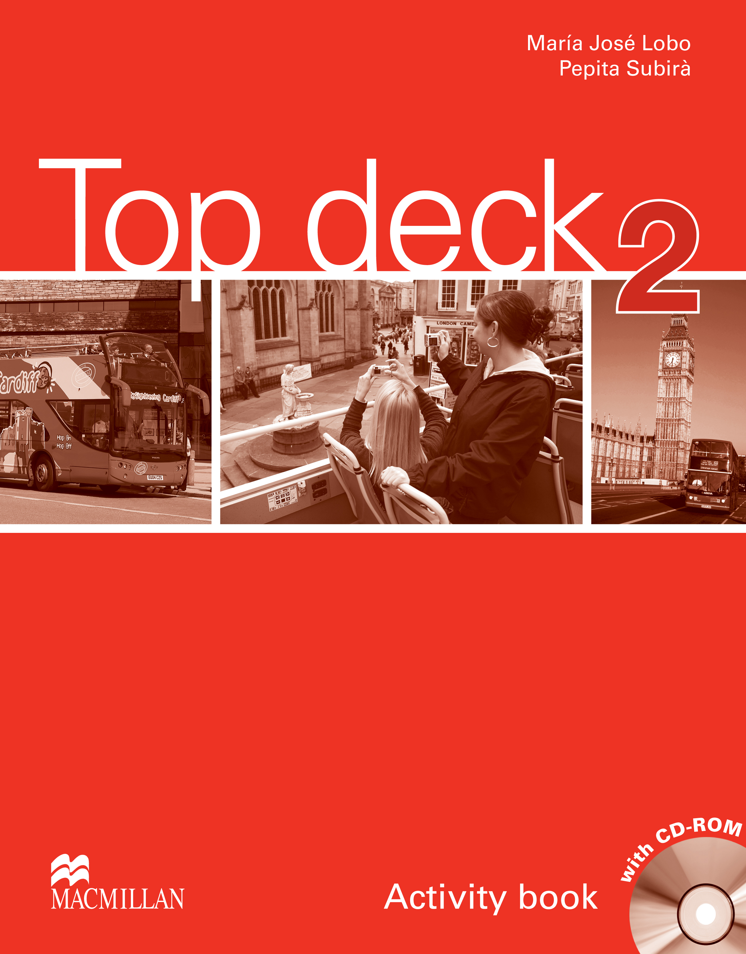 Top Deck 2 Activity Book + CD ROM Pack
