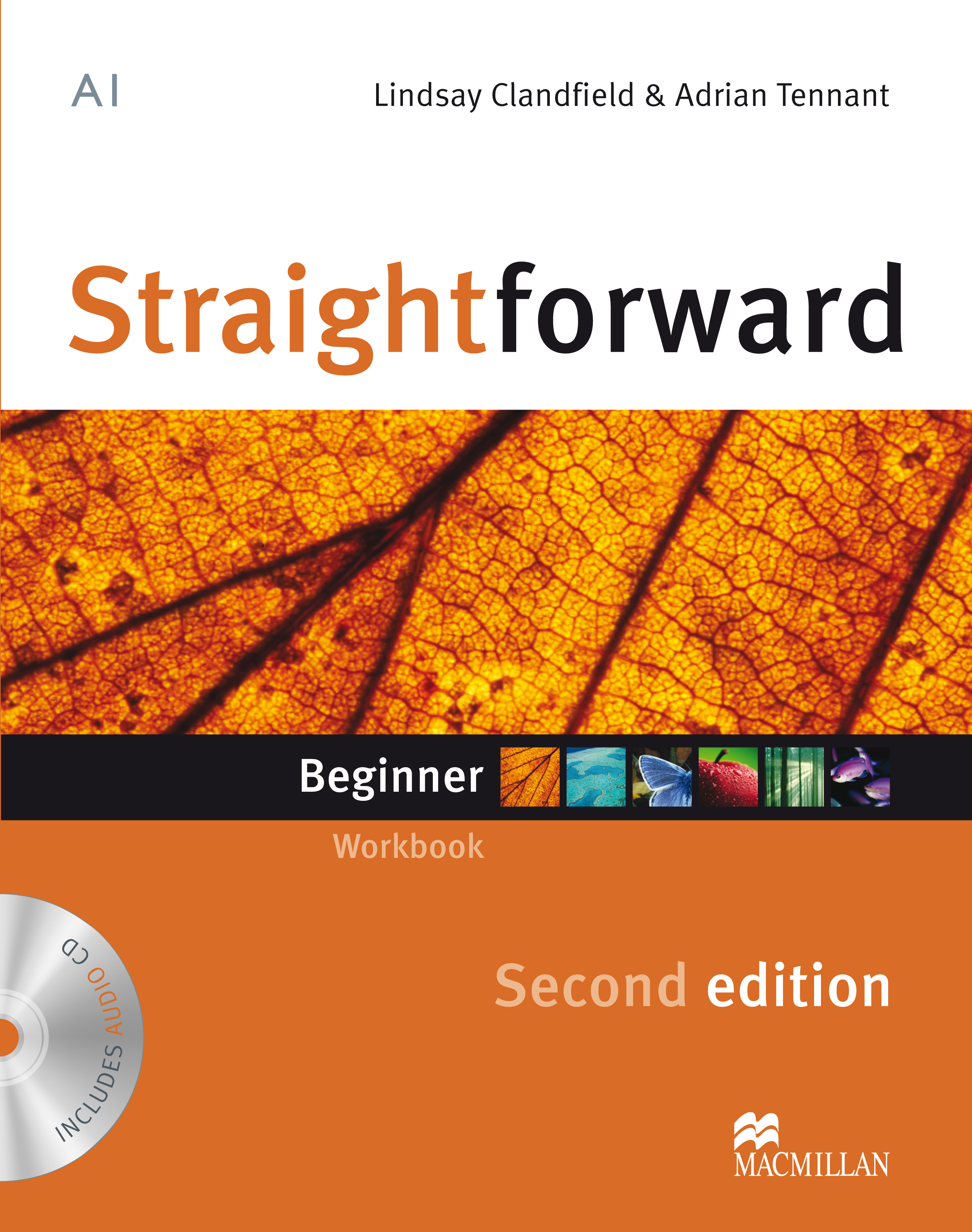 Straightforward Second Edition Beginner Workbook Without Key + CD