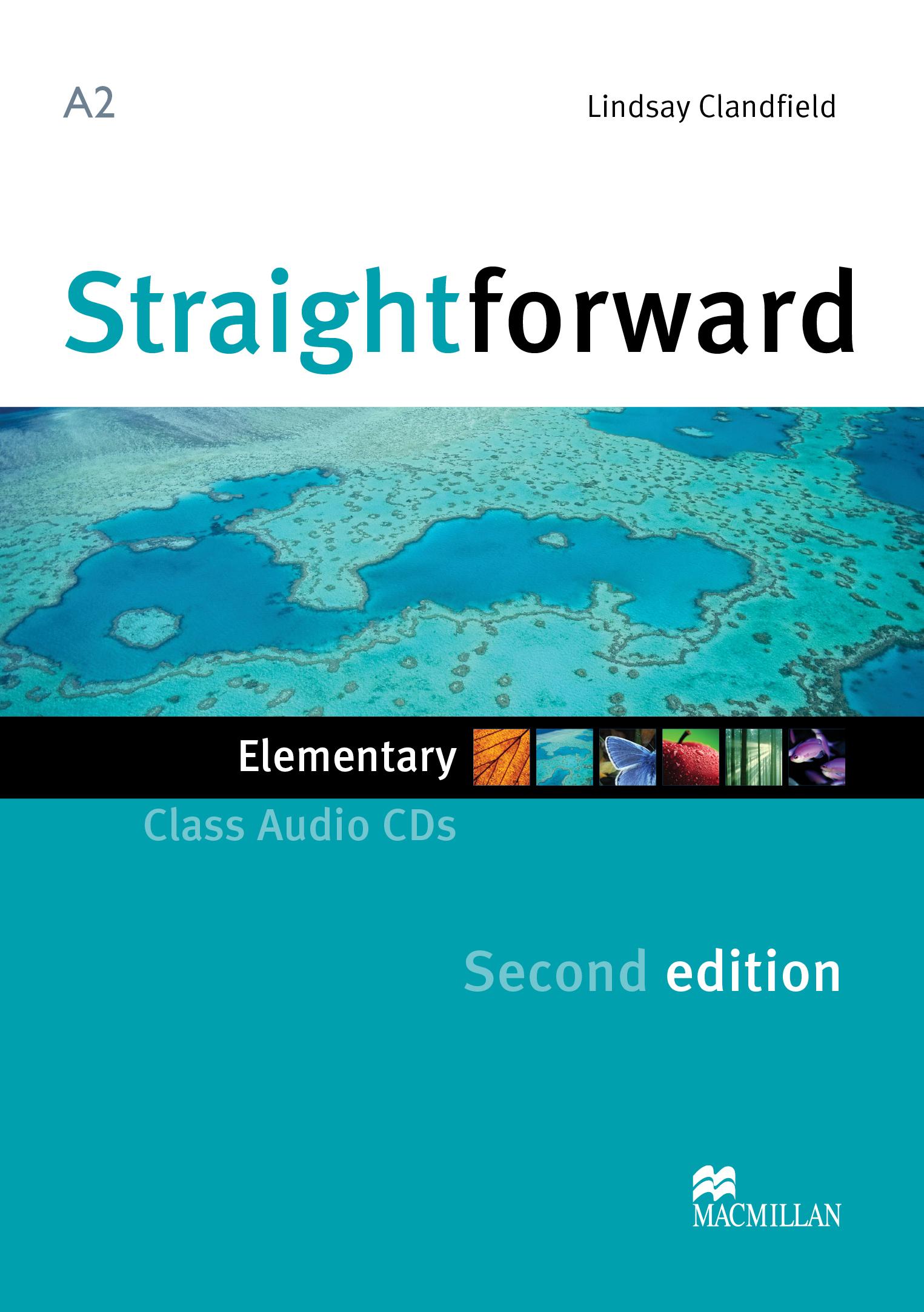 Straightforward Second Edition Elementary Class Audio CD