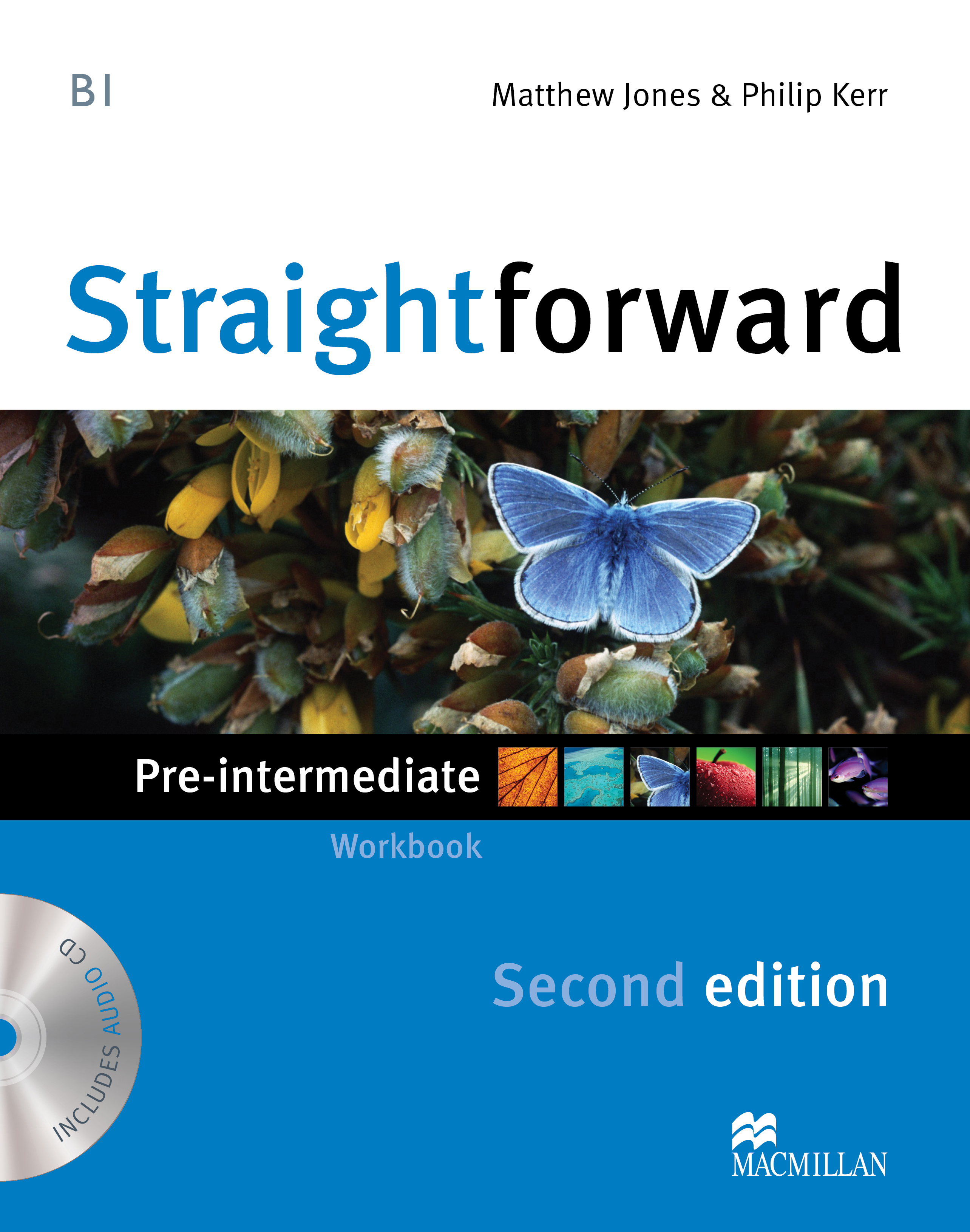 Straightforward Second Edition Pre-Intermediate Workbook Without Key + CD