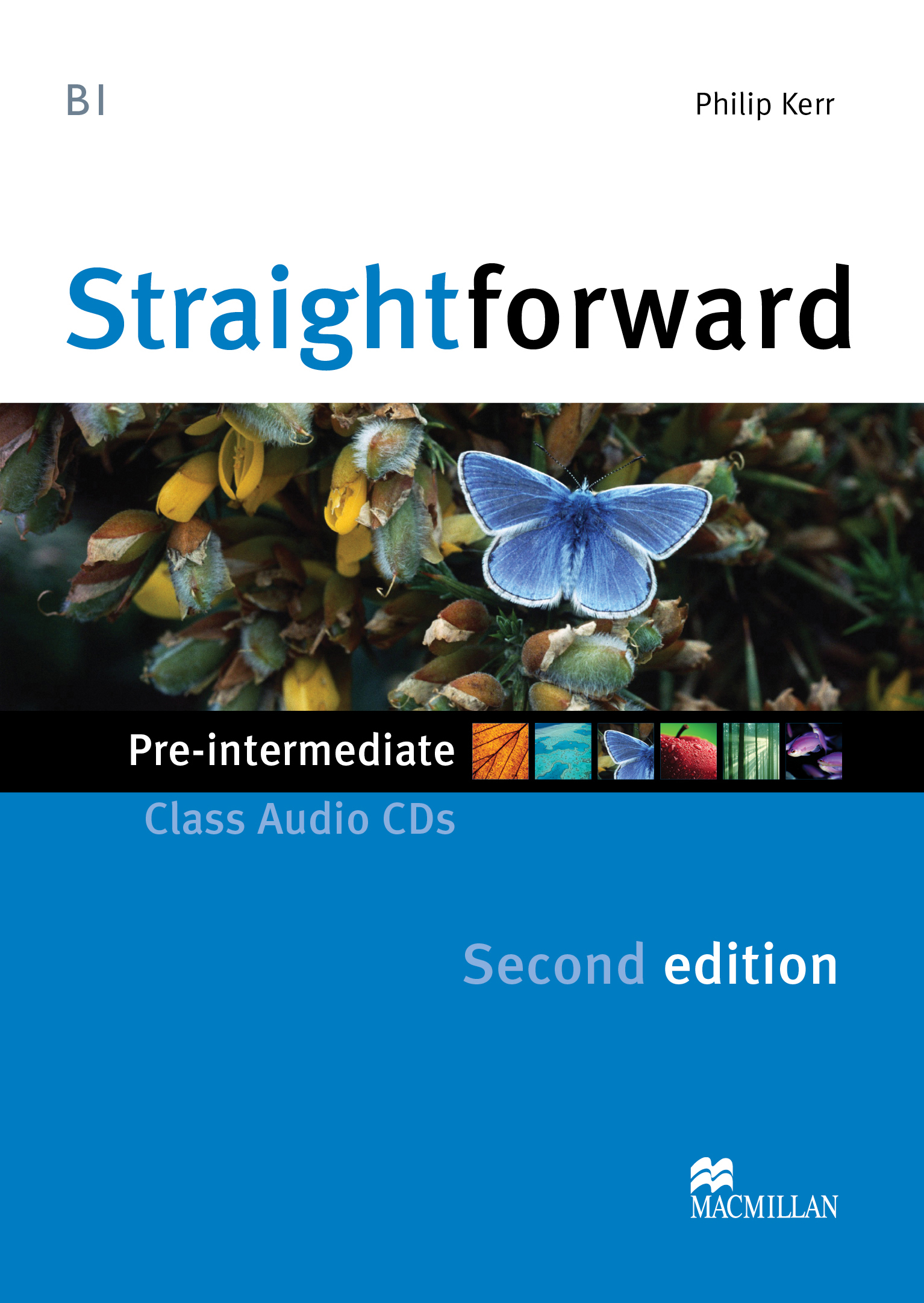 Straightforward Second Edition Pre-Intermediate Class Audio CD