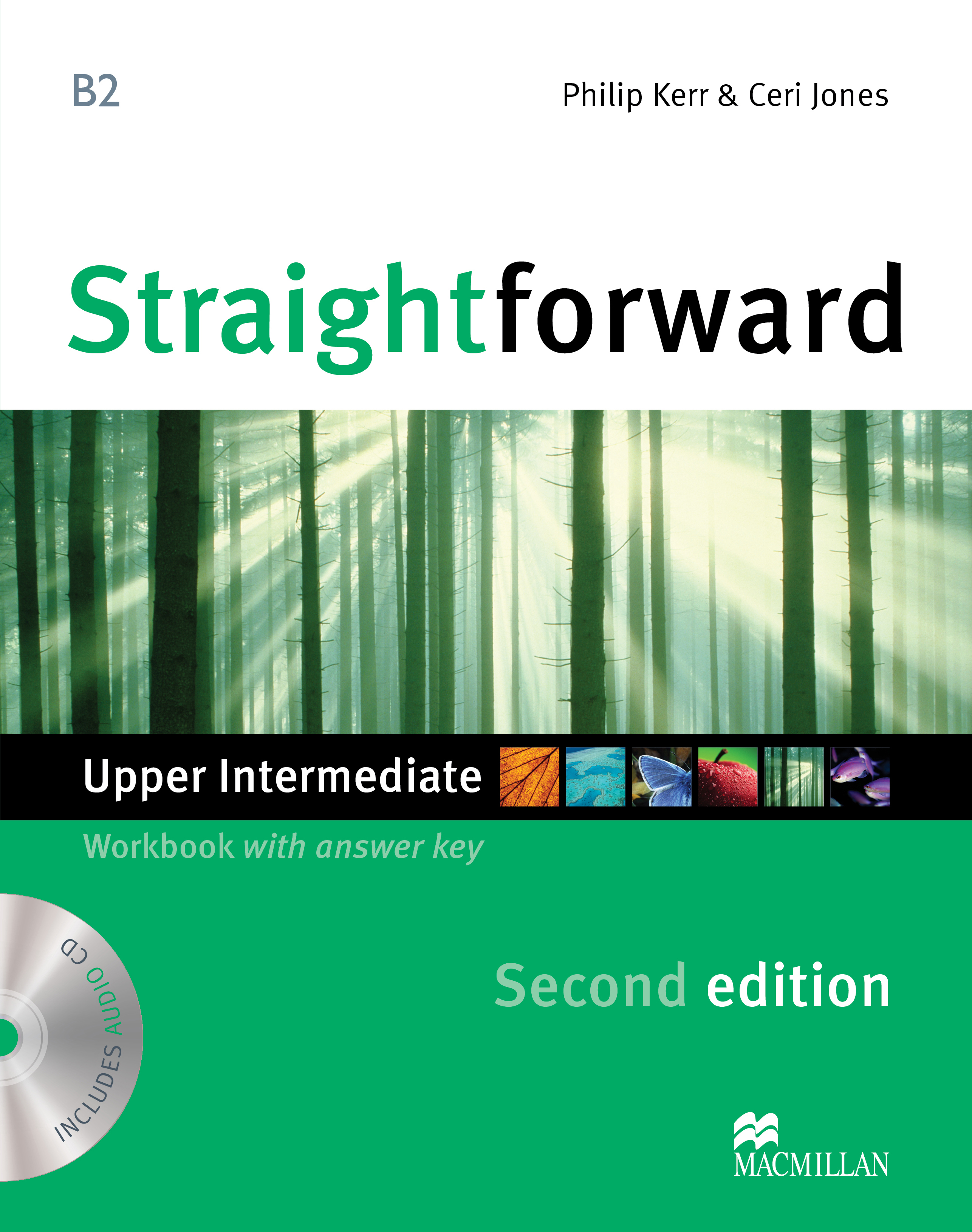 Straightforward Second Edition Upper Intermediate Workbook + CD with Key