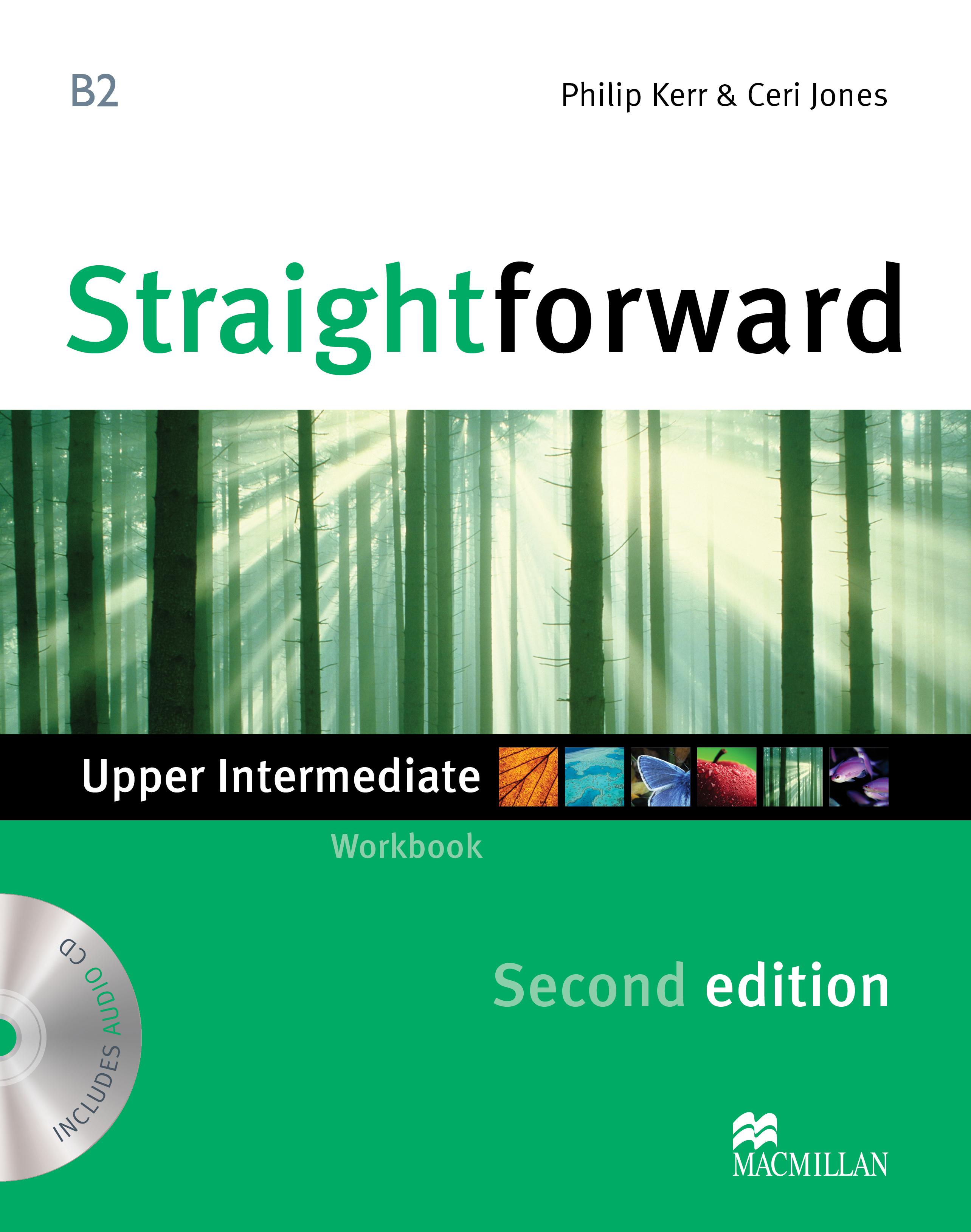 Straightforward Second Edition Upper Intermediate Workbook Without Key + CD