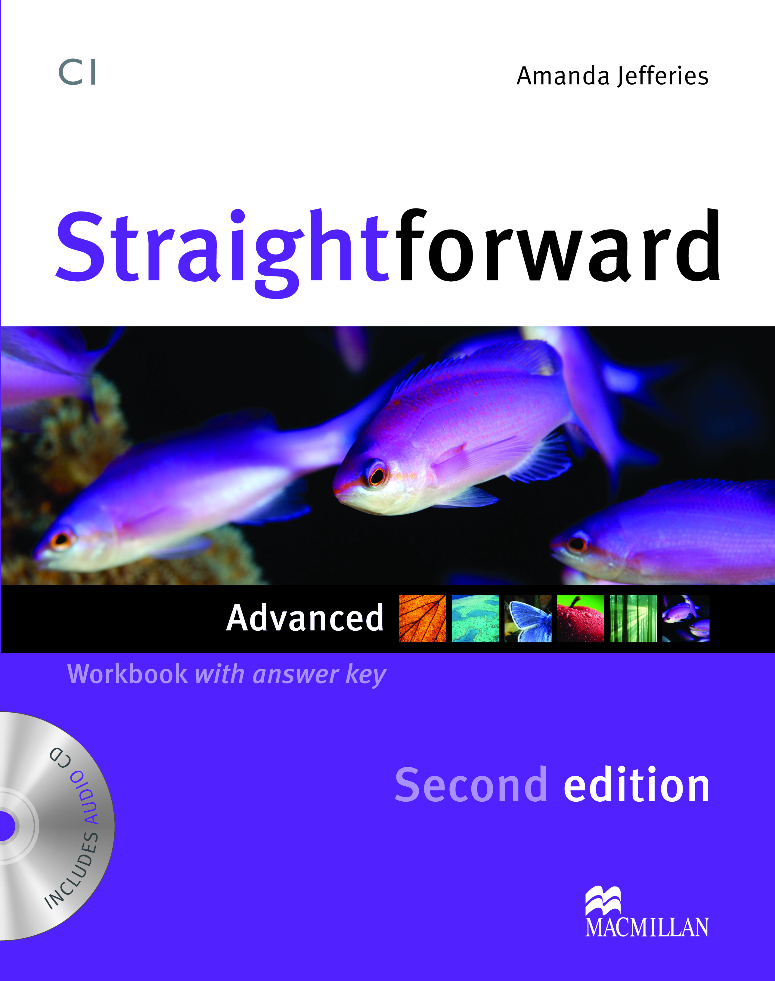 Straightforward Second Edition Advanced Workbook + CD with Key