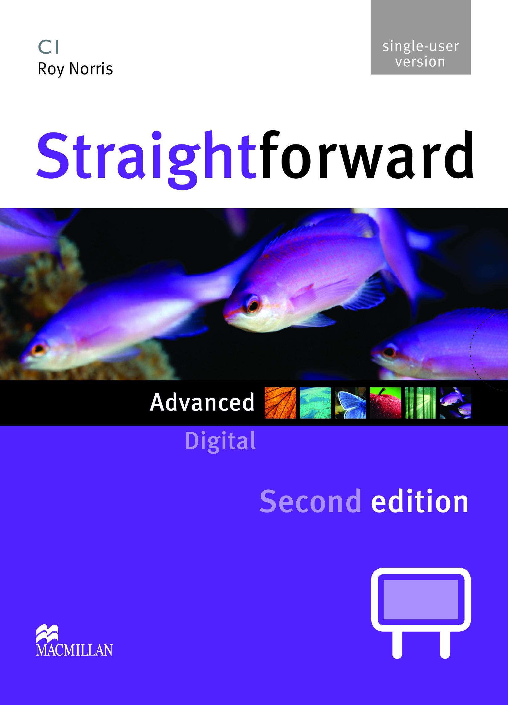 Straightforward Second Edition Advanced IWB DVD-ROM Single User