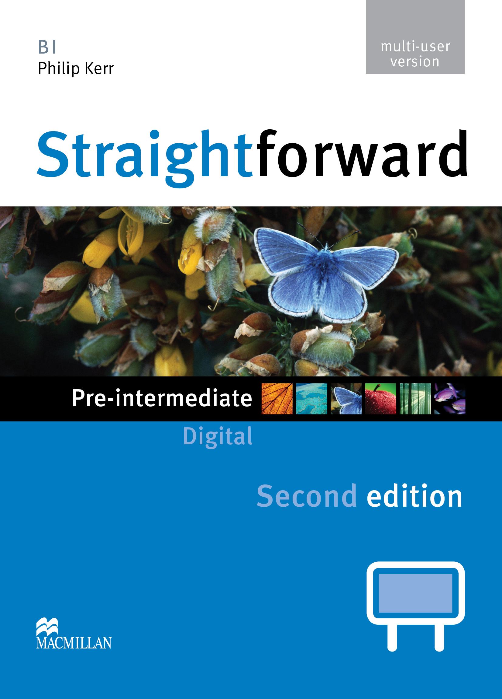 Straightforward Second Edition Pre-Intermediate IWB DVD-ROM Multiple User
