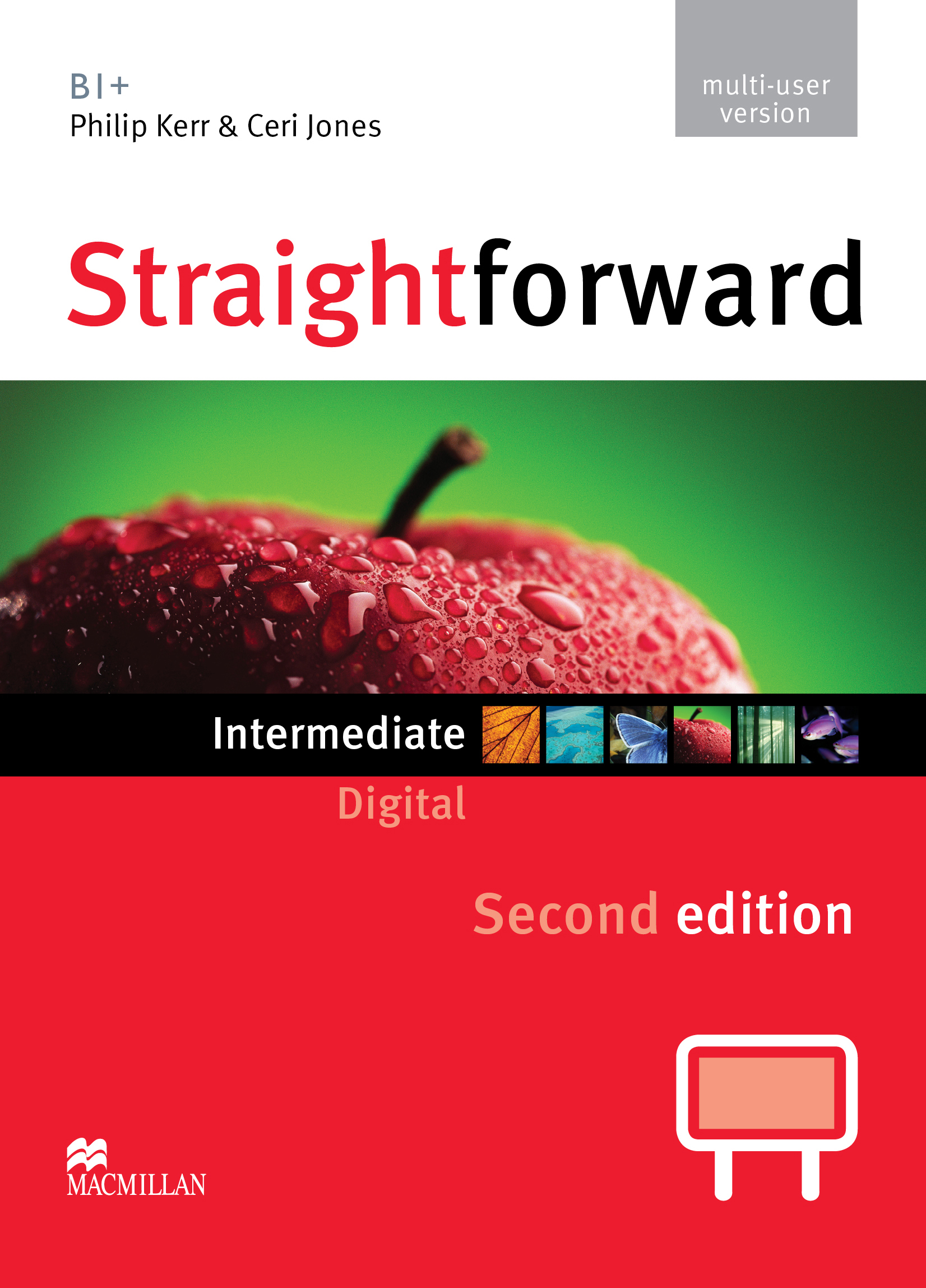 Straightforward Second Edition Intermediate IWB DVD-ROM Multiple User