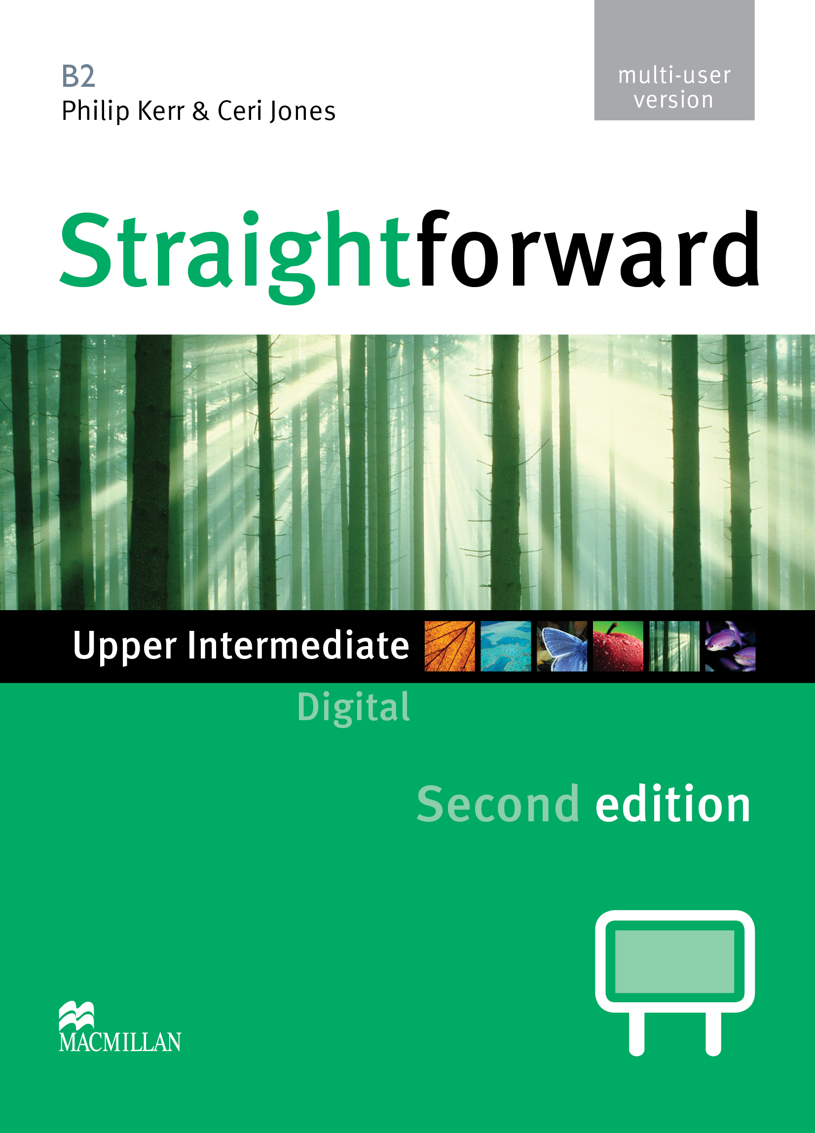Straightforward Second Edition Upper Intermediate IWB DVD-ROM Multiple User