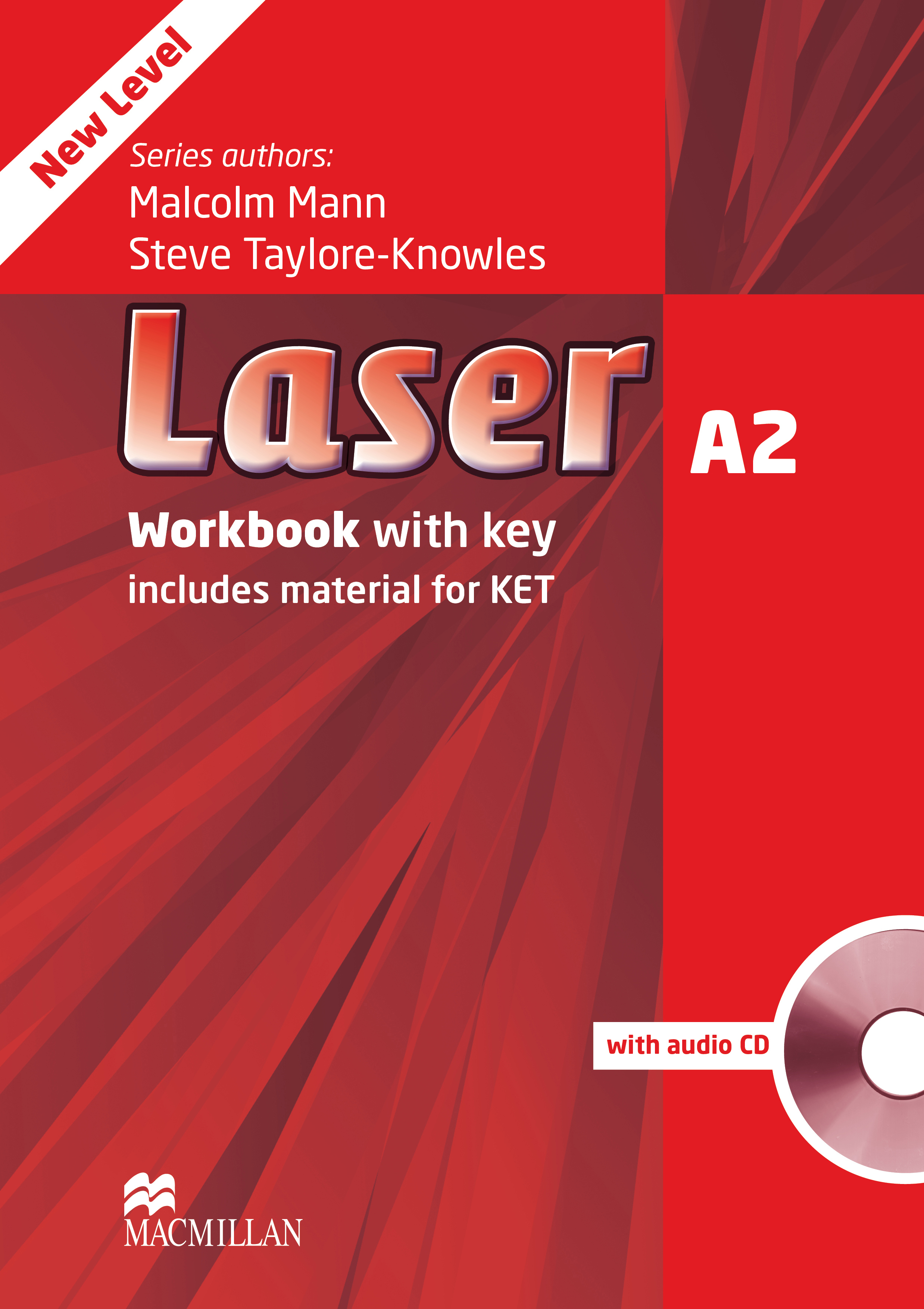 Laser A2 Third Edition Workbook with Key and CD Pack