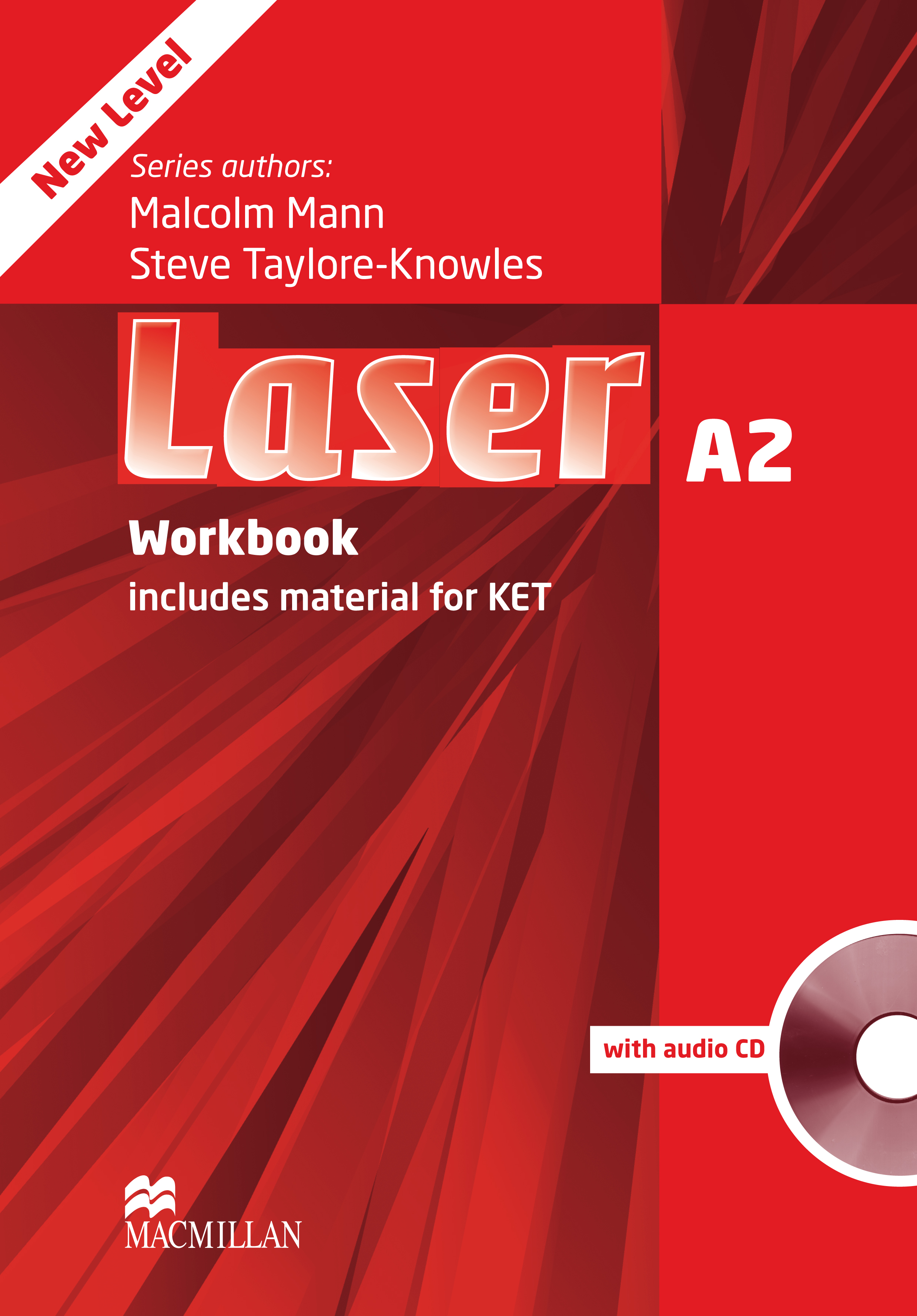 Laser A2 Third Edition Workbook without Key and CD Pack