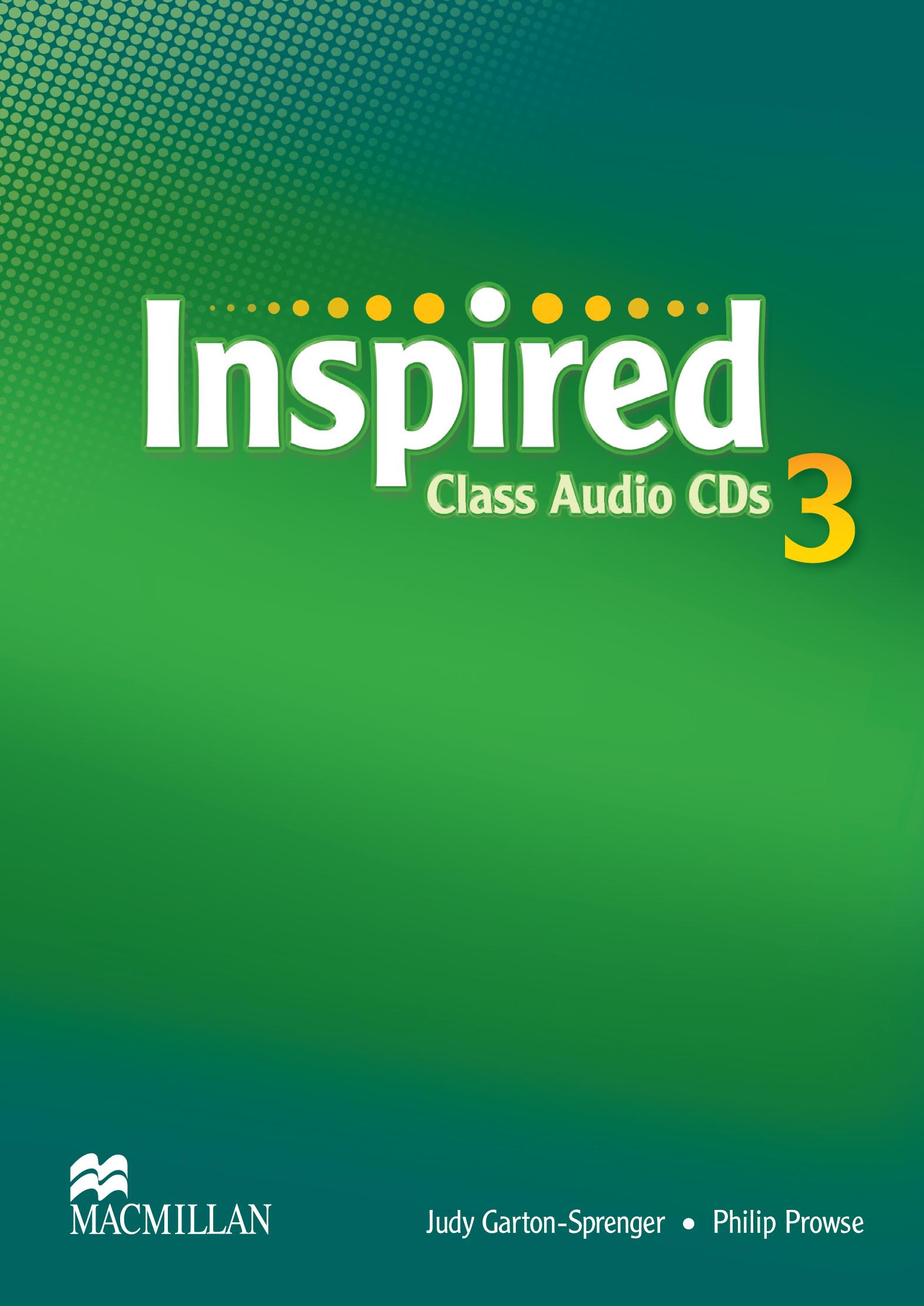 Inspired 3 Class Audio CDs