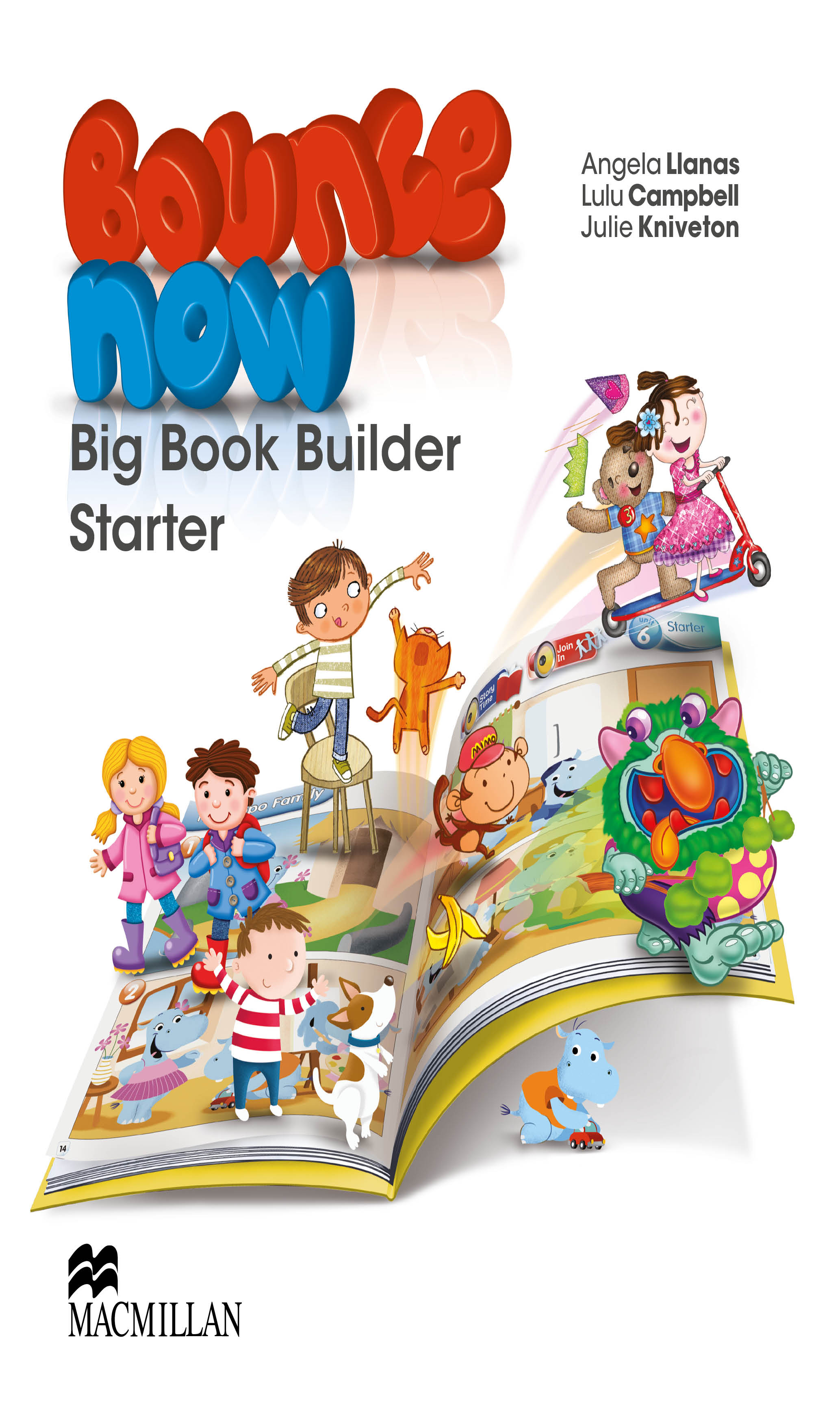 Bounce Now Starter Big Book Builder