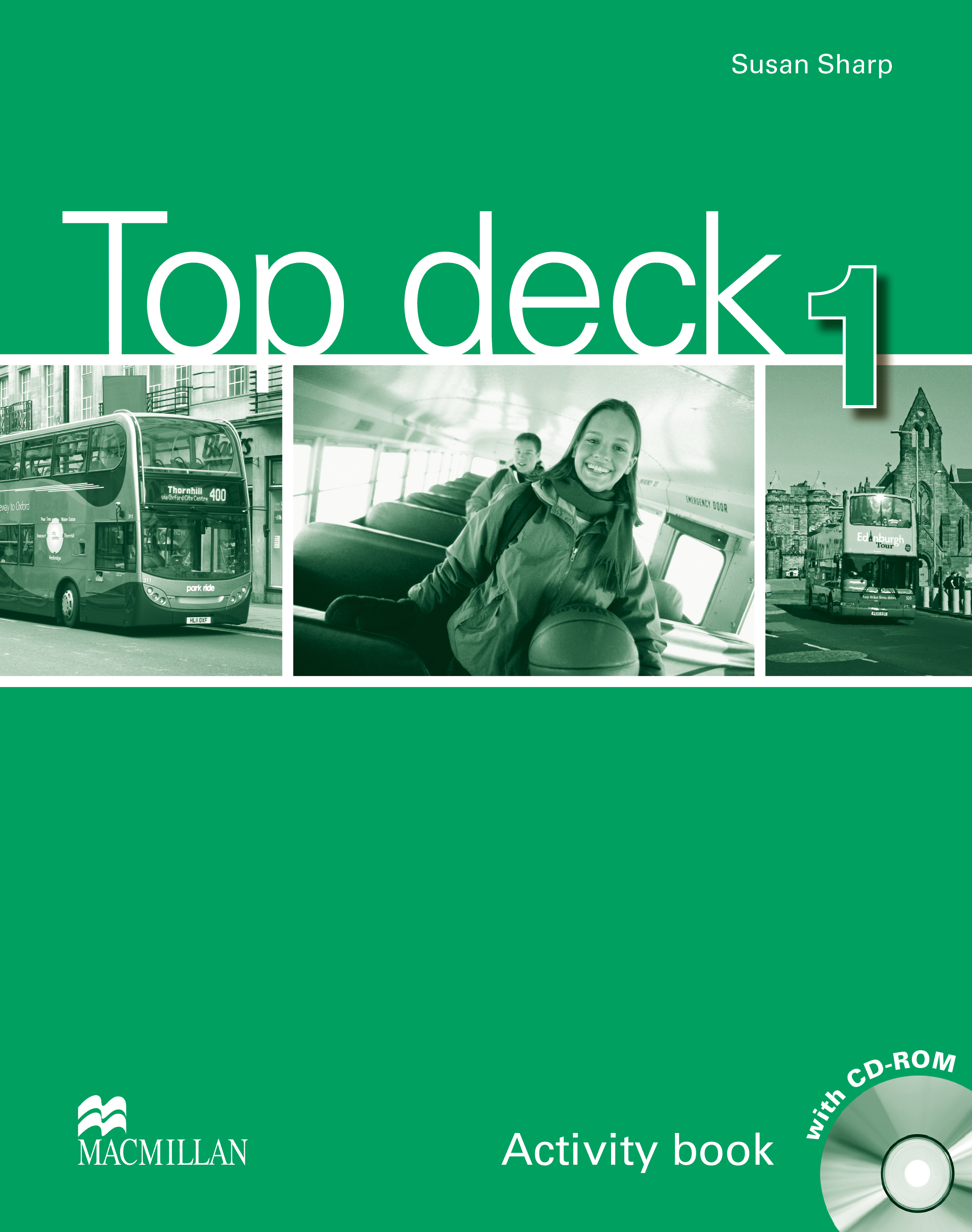 Top Deck 1 Activity Book + CD ROM Pack