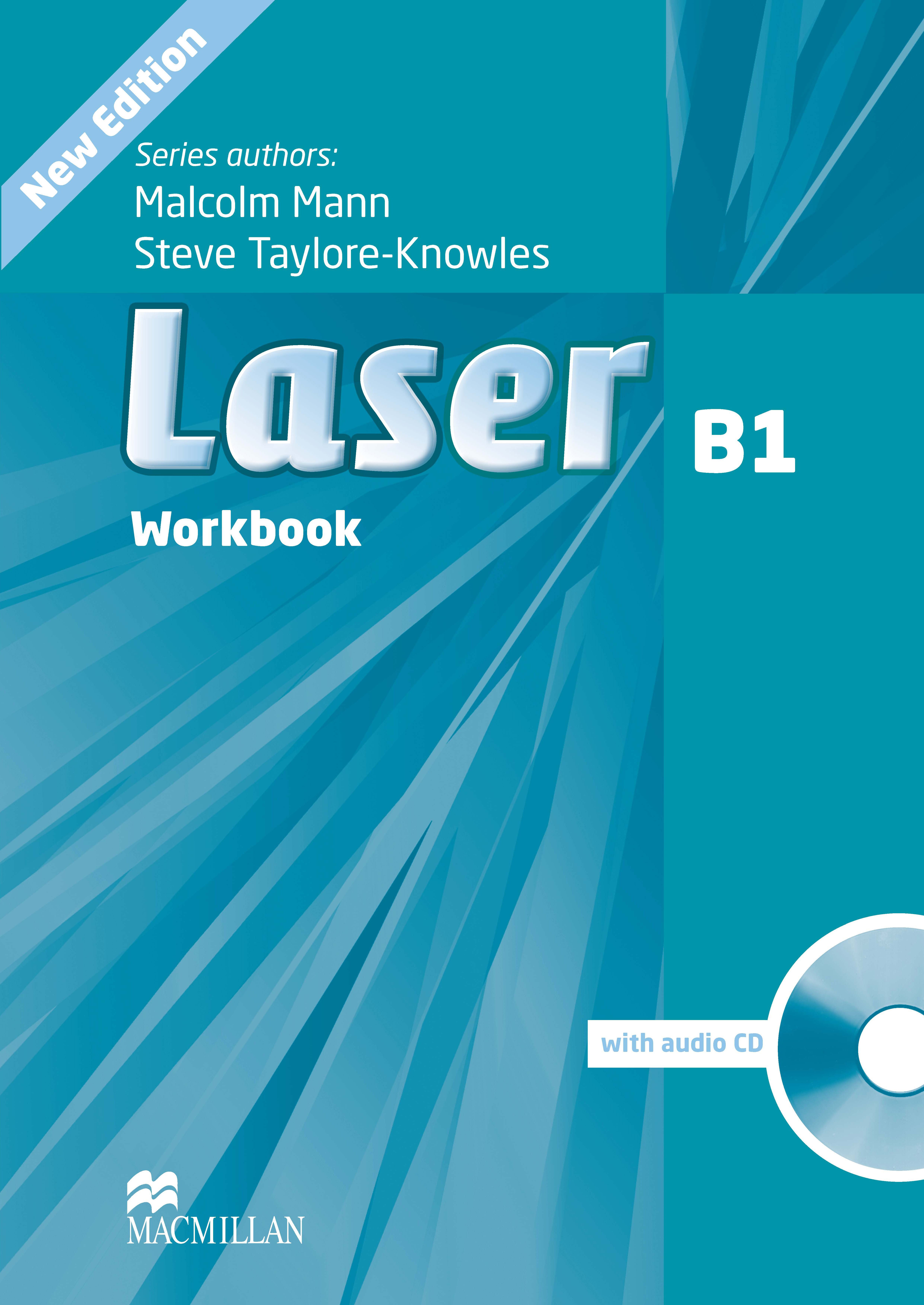 Laser B1 Third Edition Workbook without Key and CD Pack