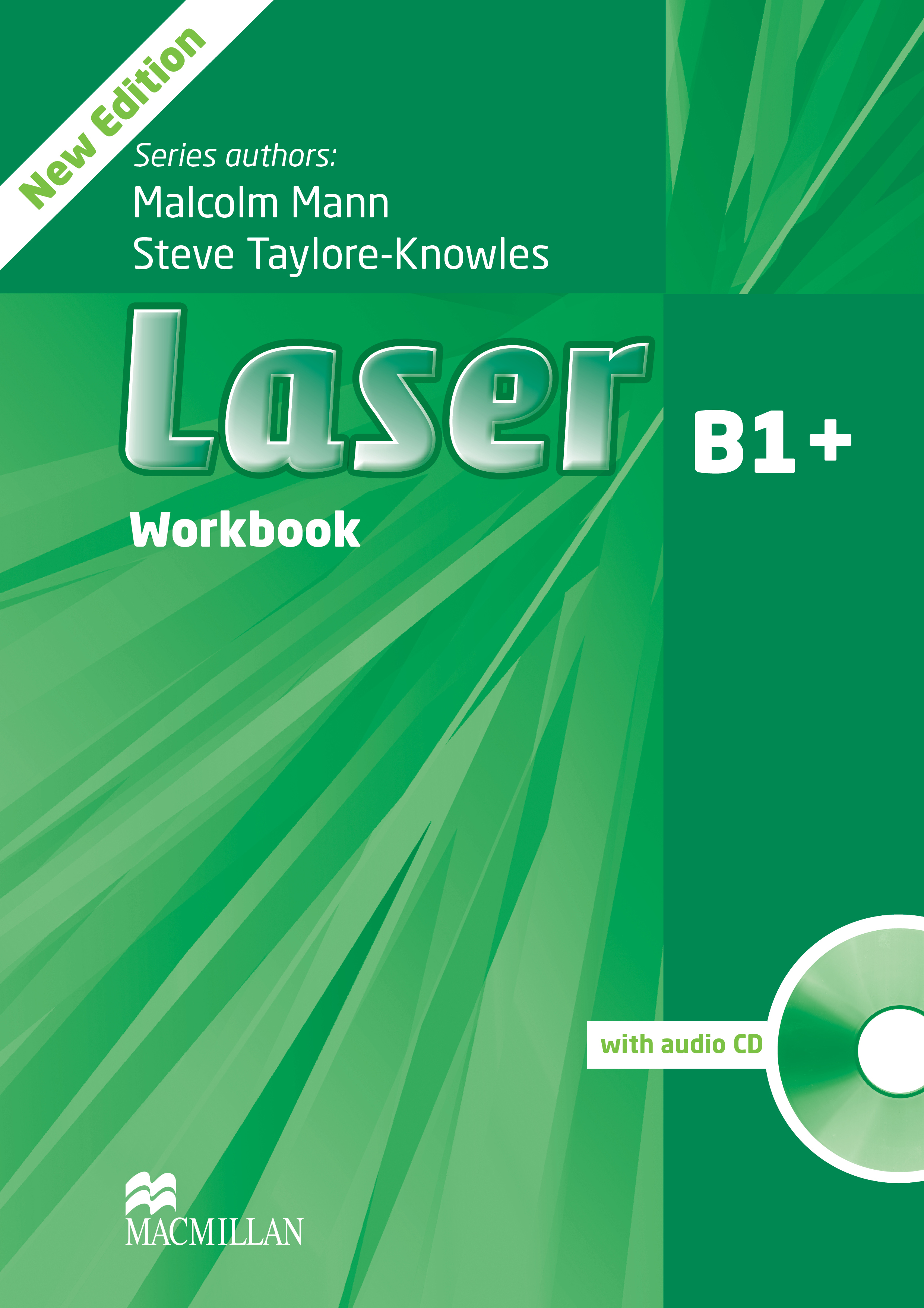 Laser B1+ Third Edition Workbook without Key and CD Pack
