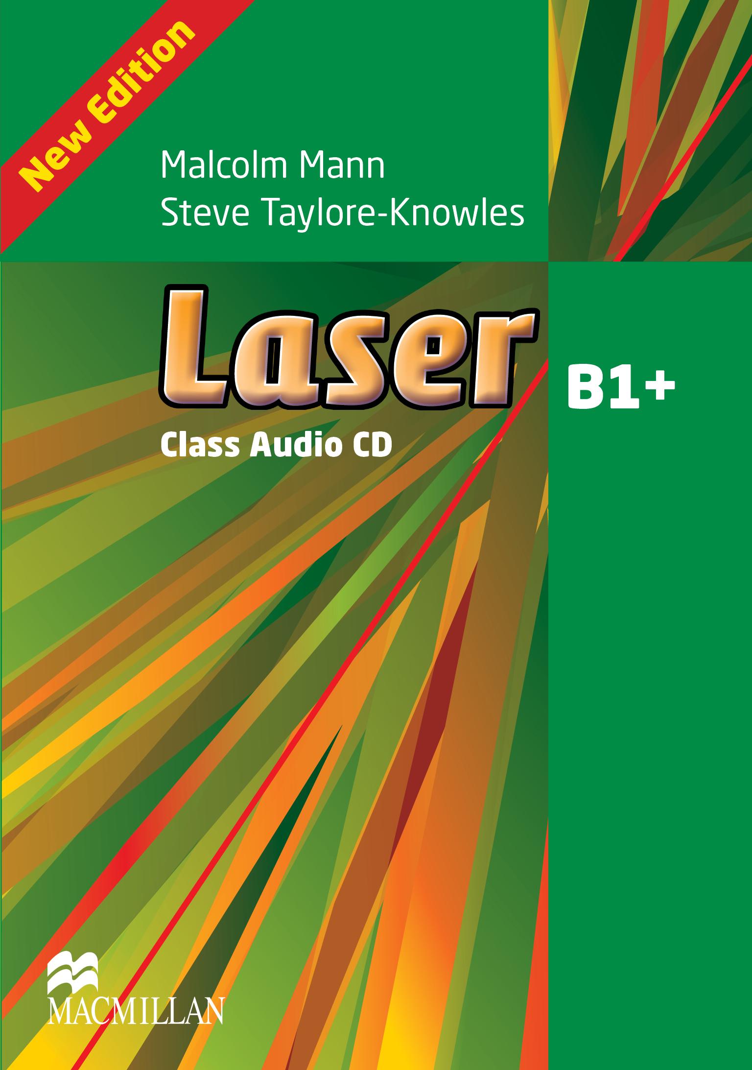 Laser B1+ Third Edition Class Audio CDx2