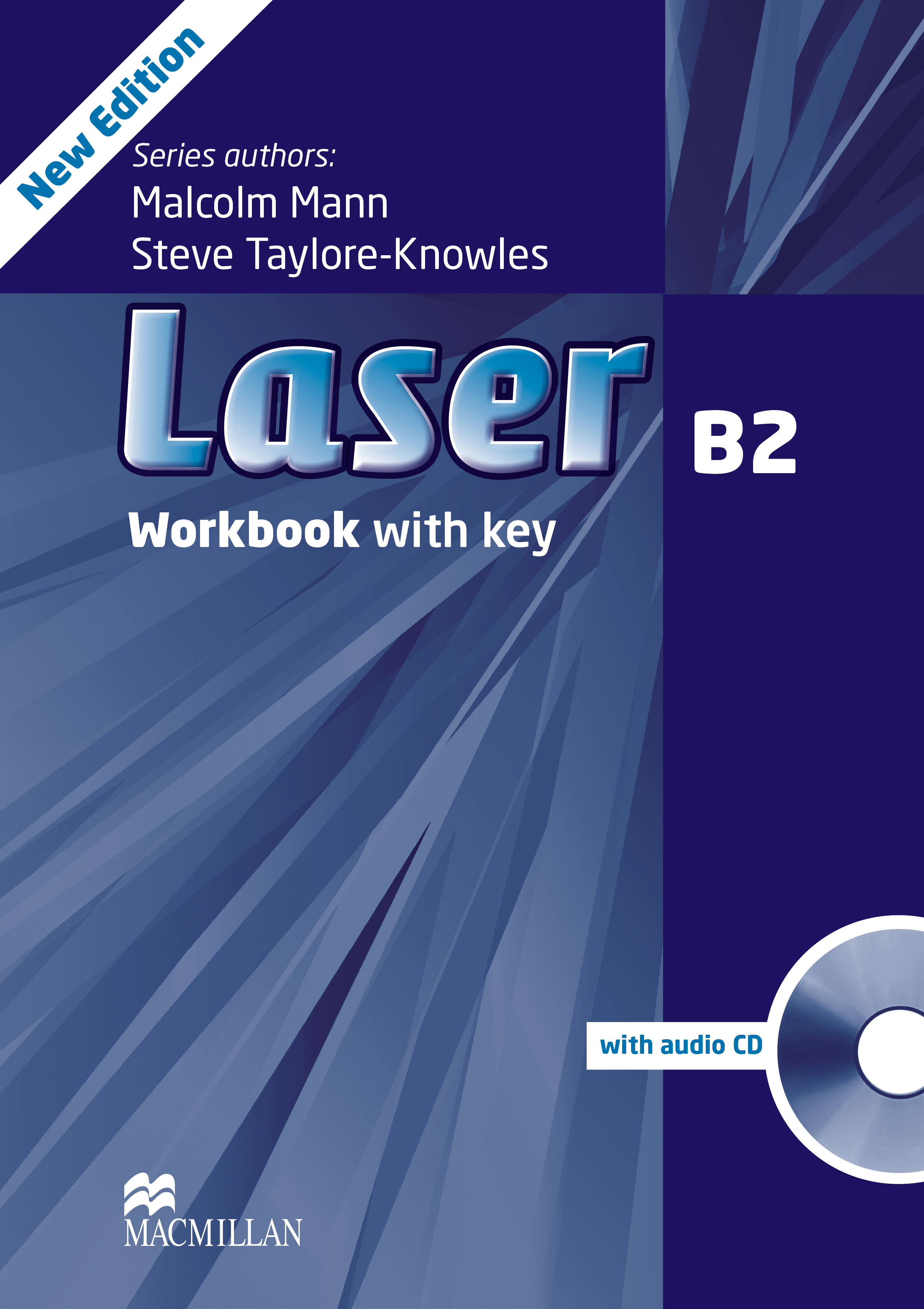 Laser B2 Third Edition Workbook with Key and CD Pack