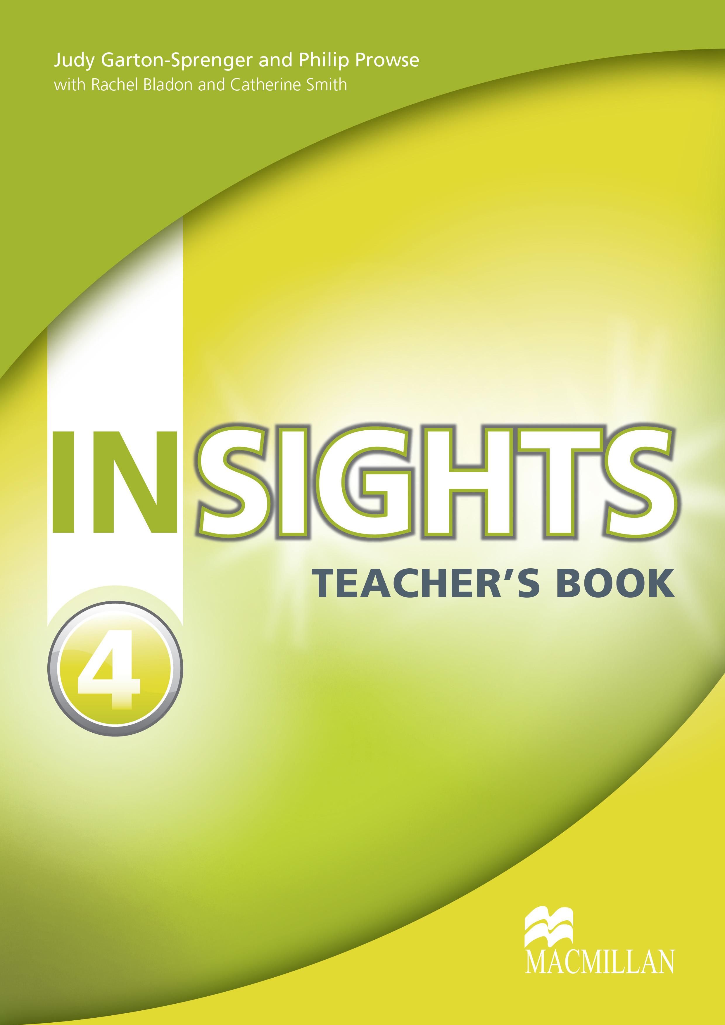 Insights 4 Teacher