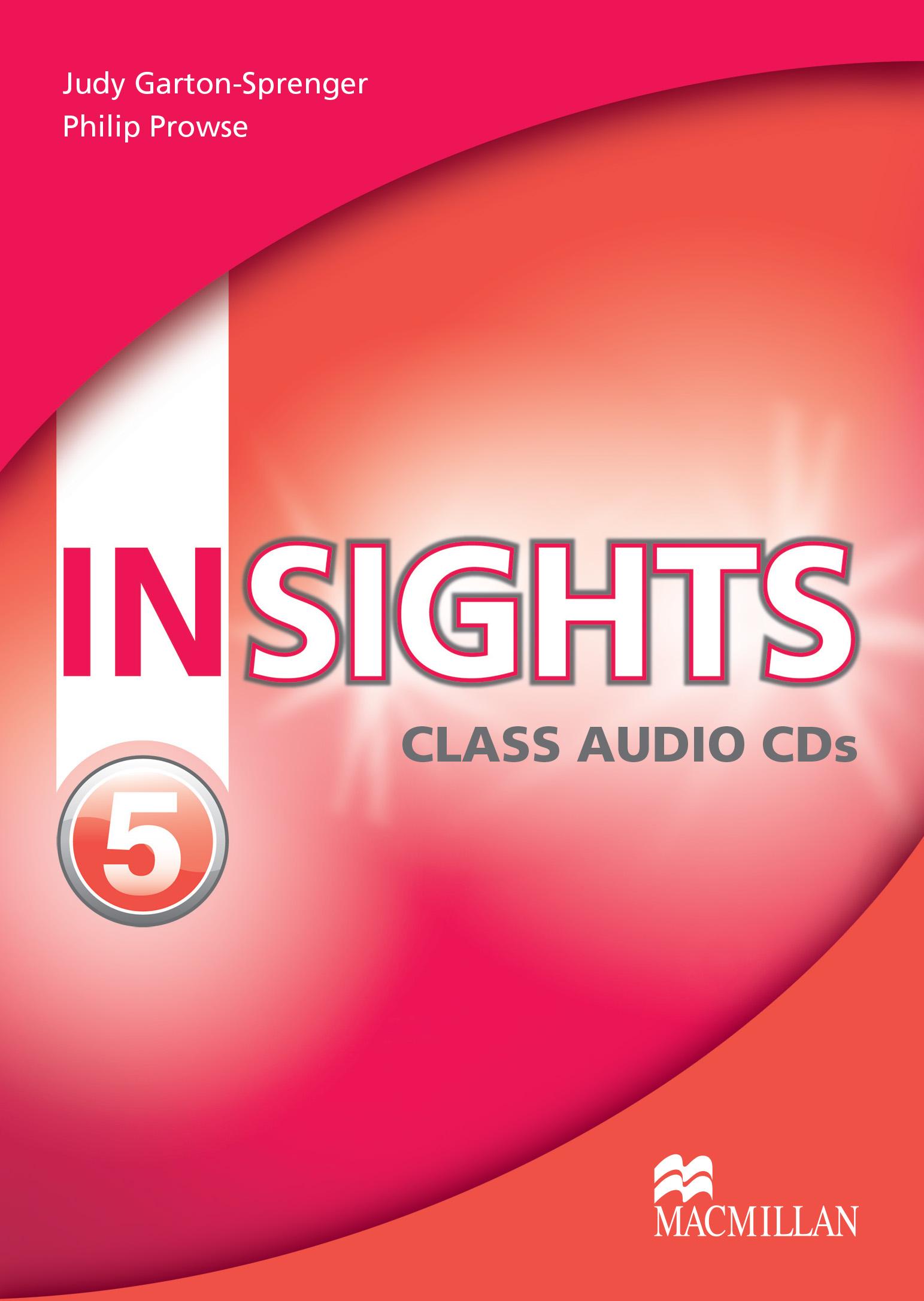 Insights 5 Class Audio CD