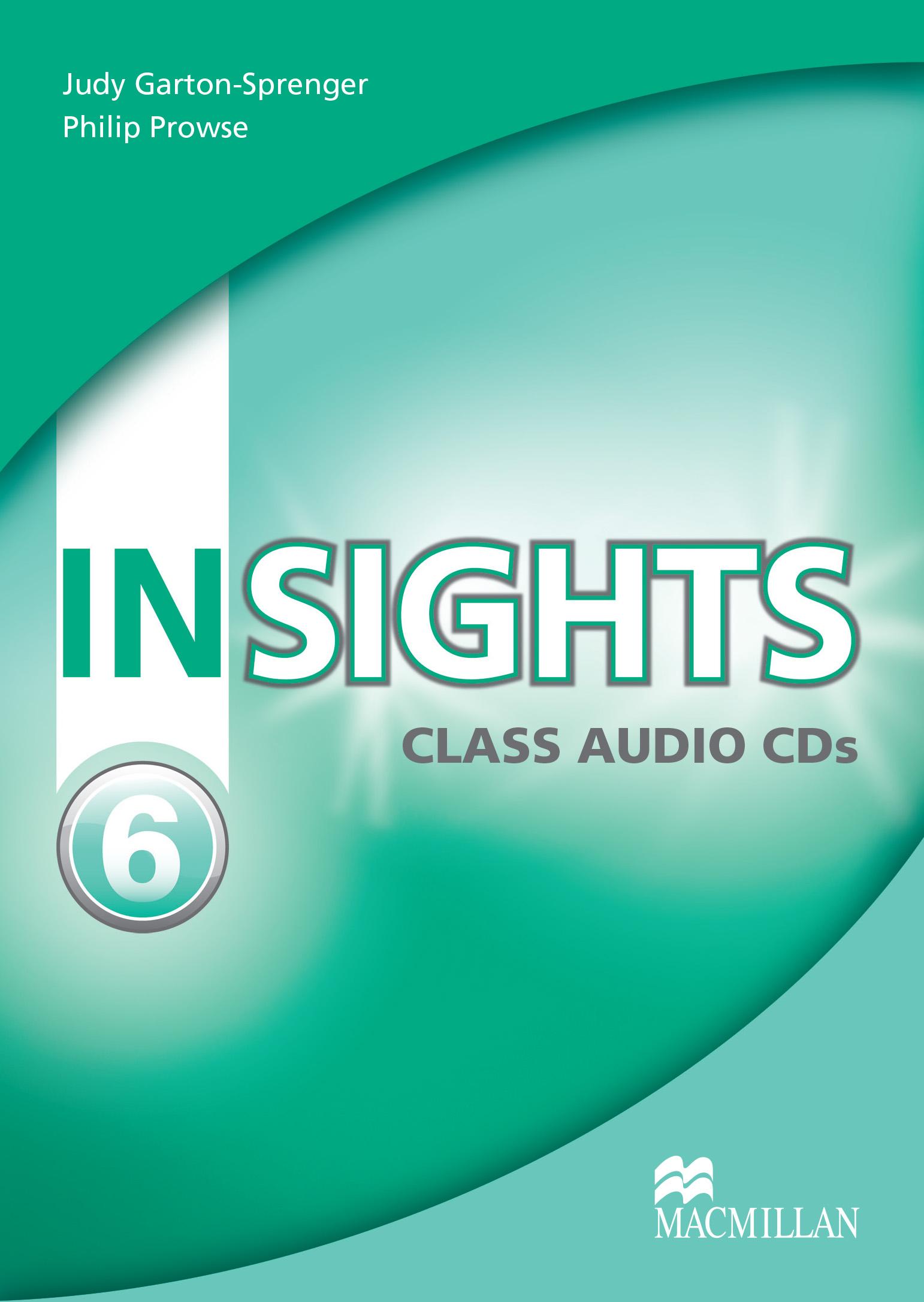 Insights 6 Class Audio CD