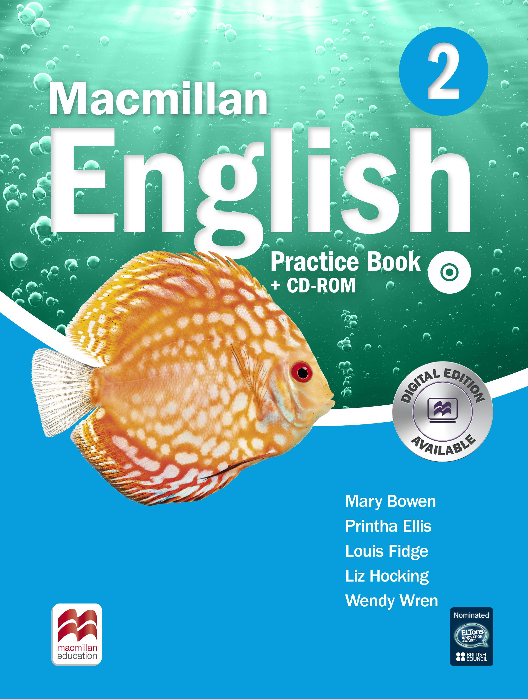 Macmillan English 2 Practice Book Pack