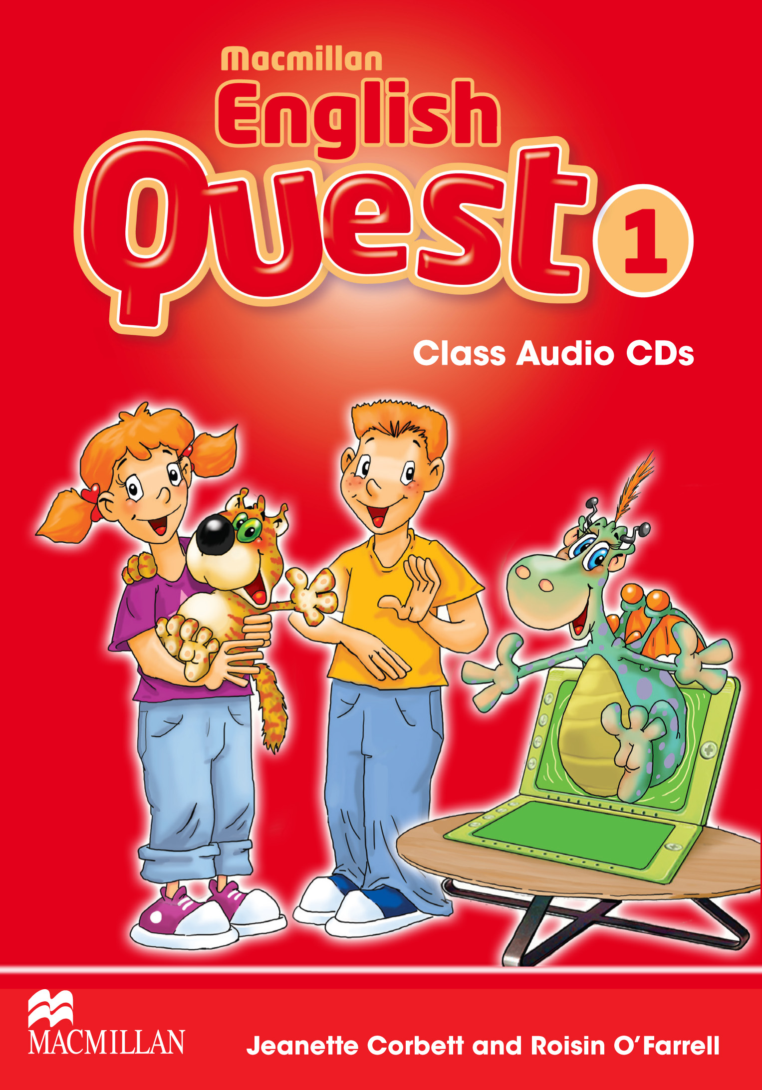 Macmillan English Quest 1 Class Audio CDs
