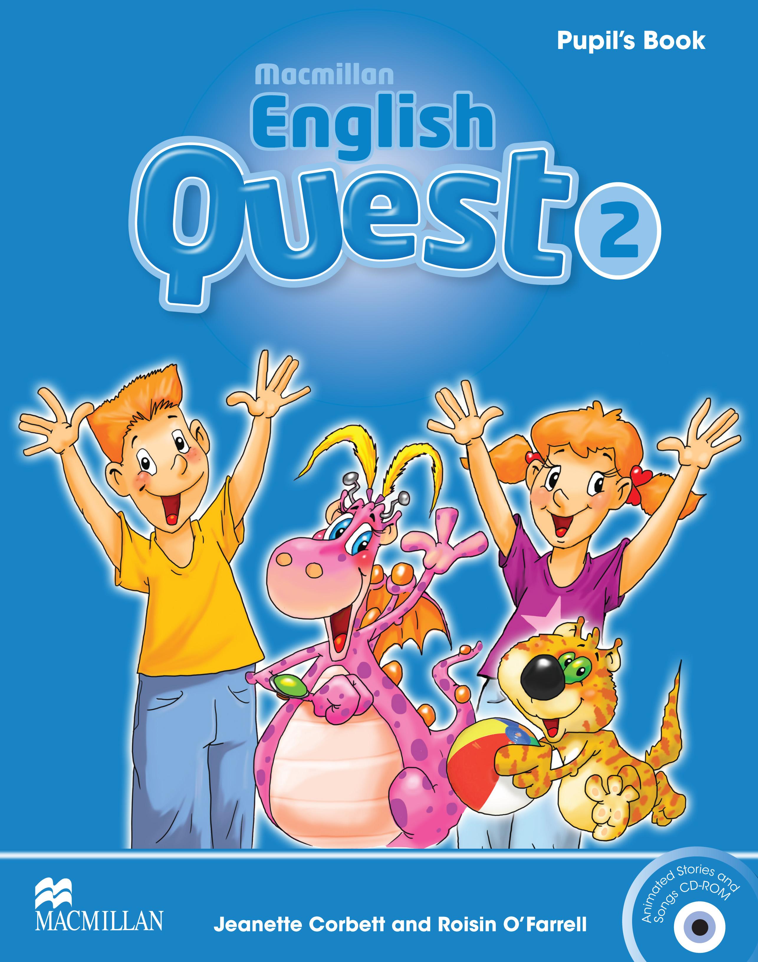 Macmillan English Quest 2 Pupil