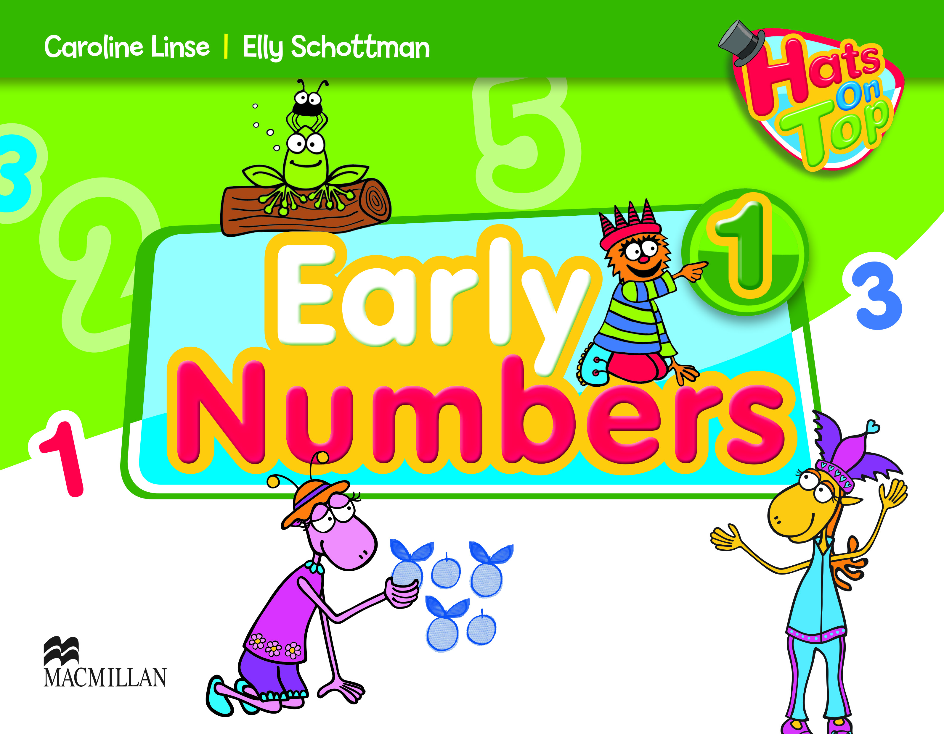 Hats On Top 1 Early Numbers Book