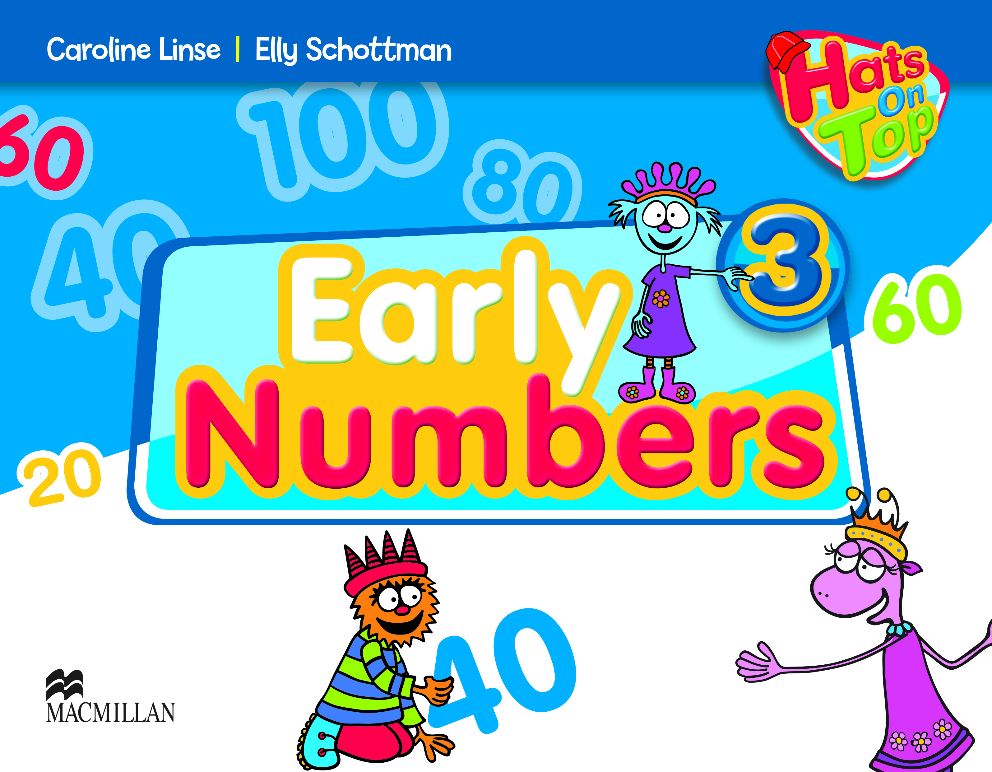 Hats On Top 3 Early Numbers Book