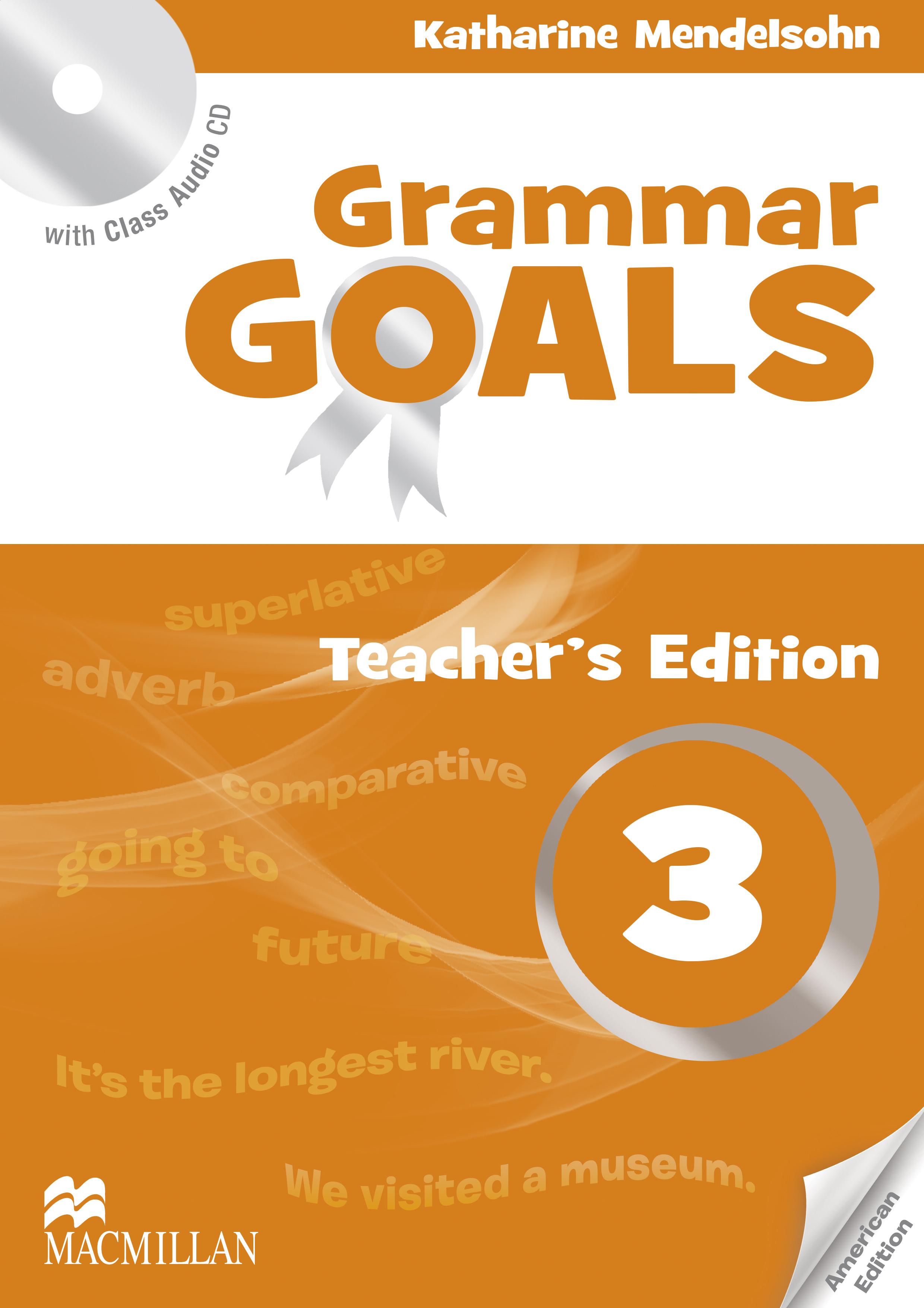 American Grammar Goals Level 3 Teacher